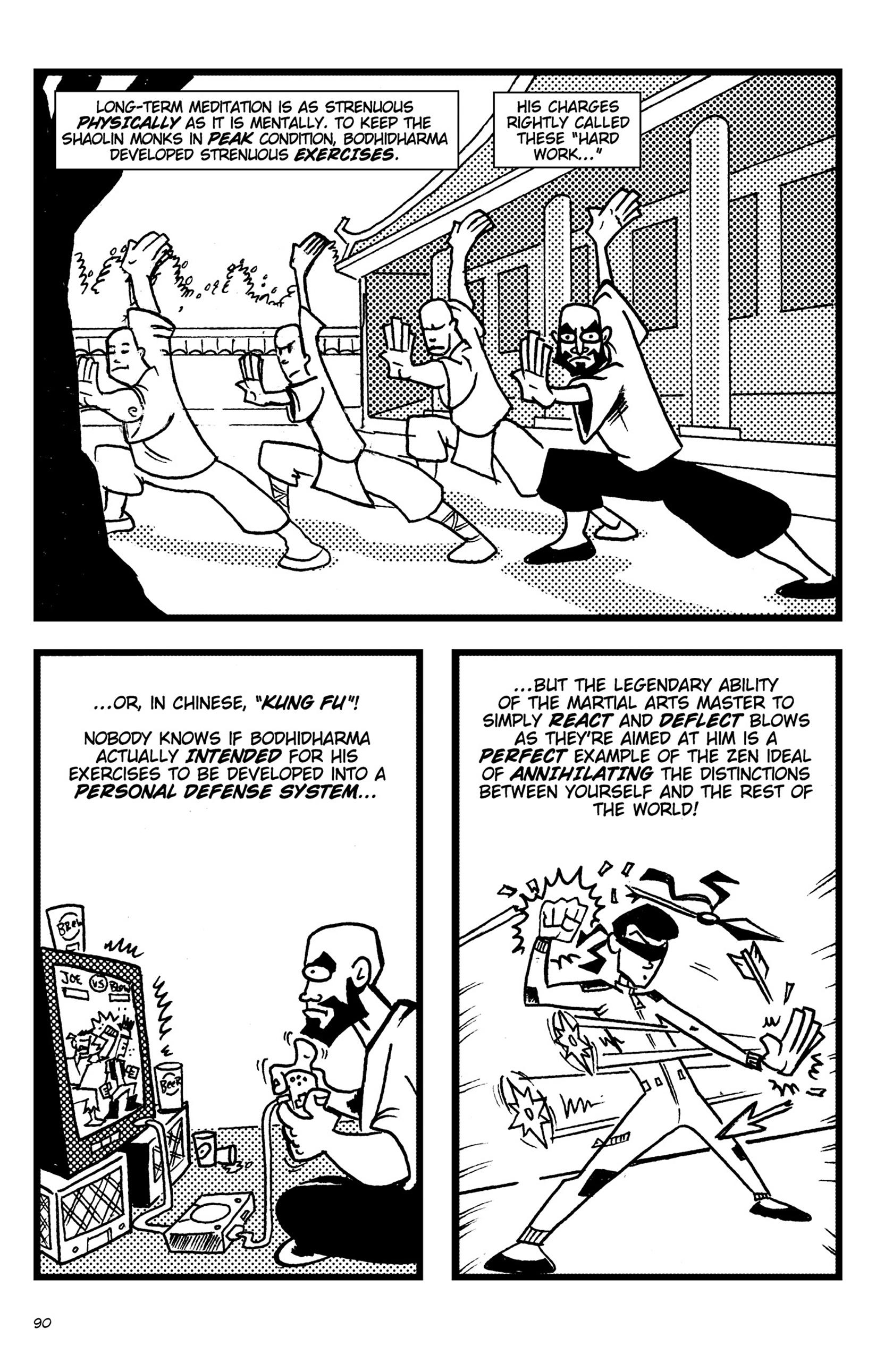 Read online Action Philosophers! comic -  Issue #Action Philosophers! TPB (Part 1) - 90