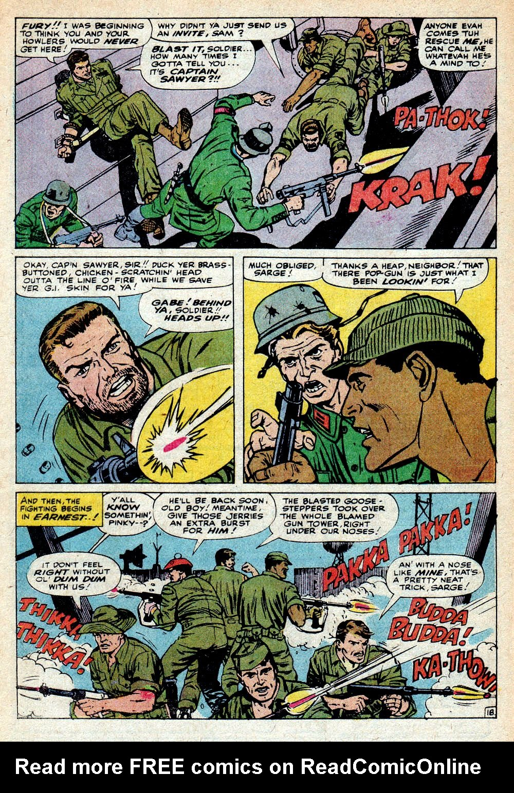 Read online Sgt. Fury comic -  Issue #85 - 28