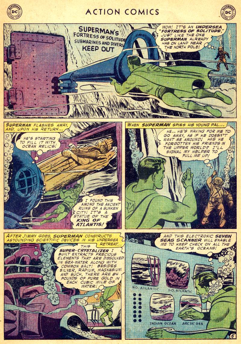 Read online Action Comics (1938) comic -  Issue #244 - 7