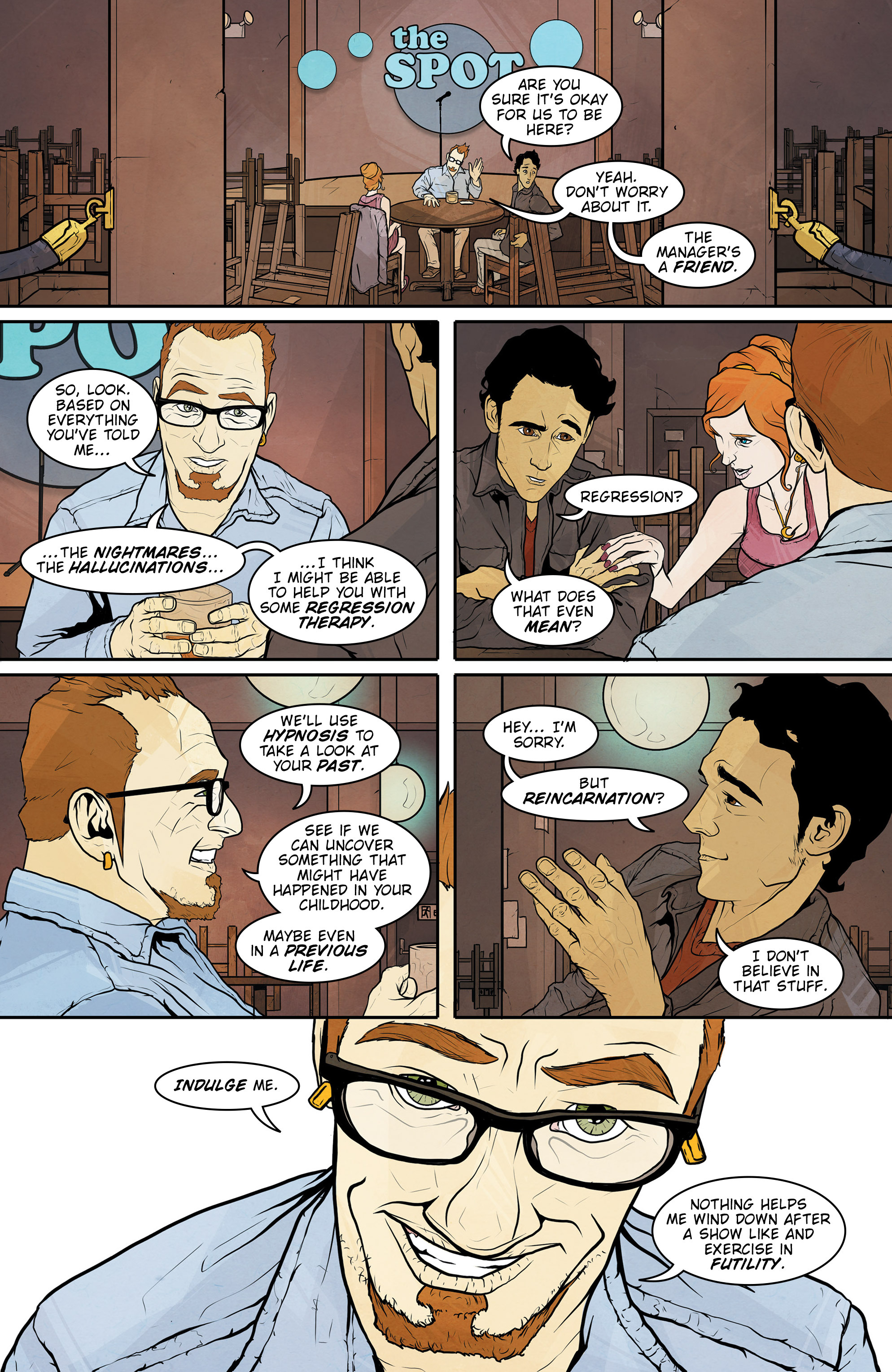 Read online Regression comic -  Issue #1 - 14