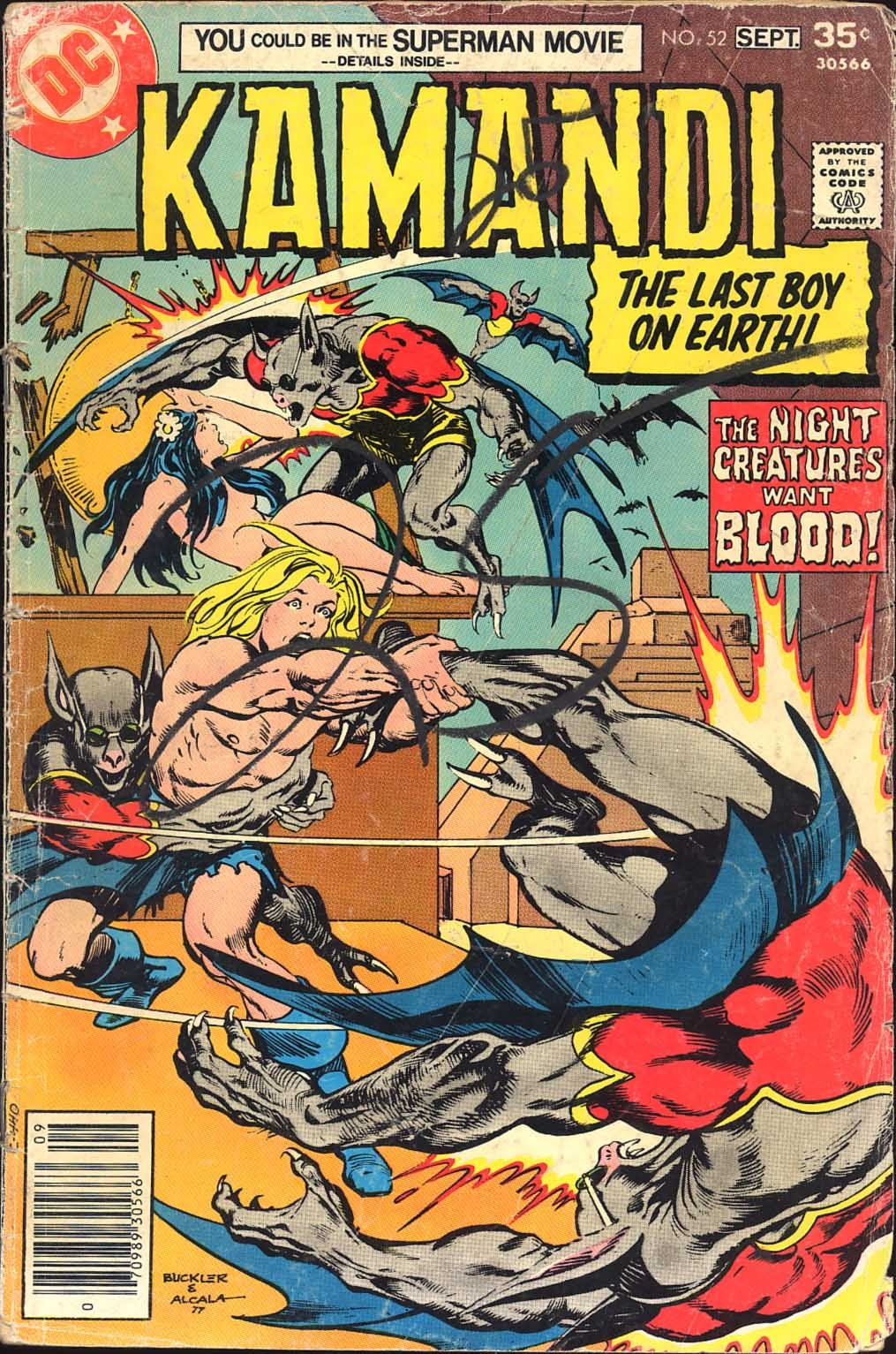 Kamandi, The Last Boy On Earth issue 52 - Page 1