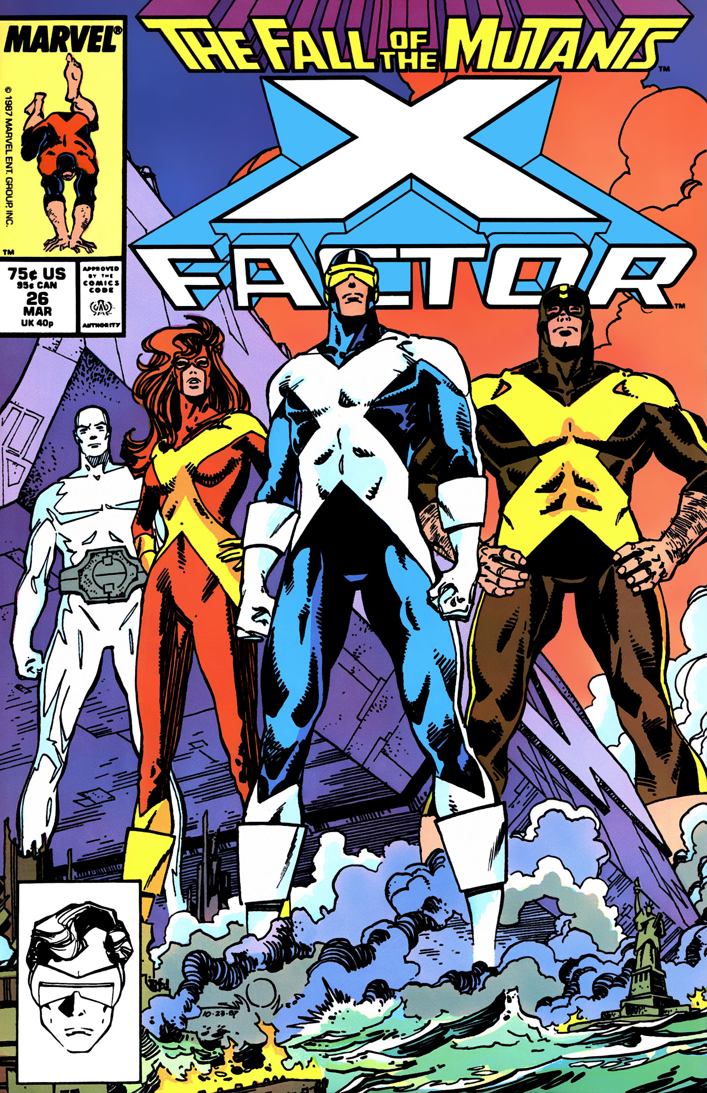 Read online X-Factor (1986) comic -  Issue #26 - 1
