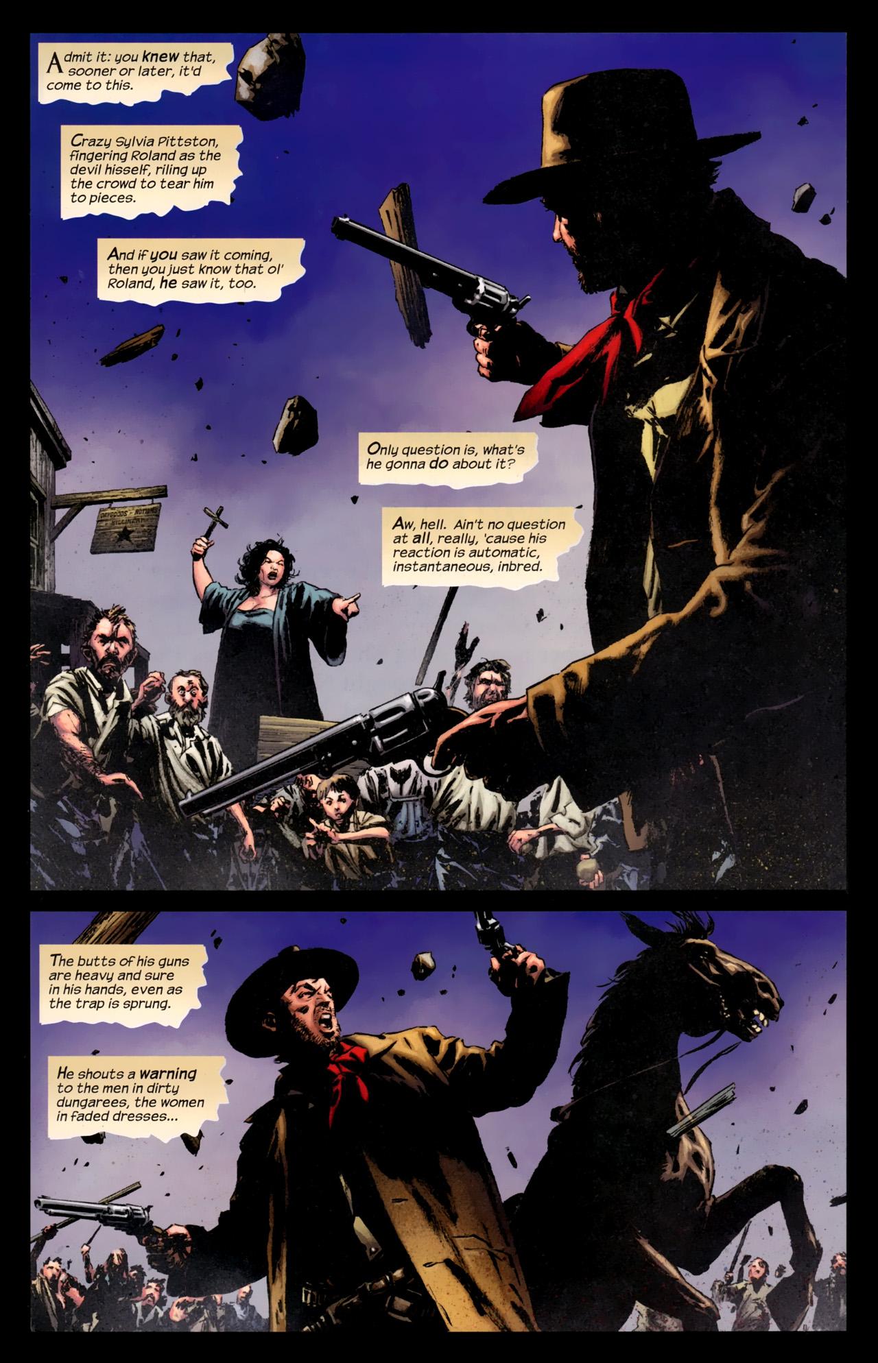 Read online Dark Tower: The Gunslinger - The Battle of Tull comic -  Issue #5 - 3