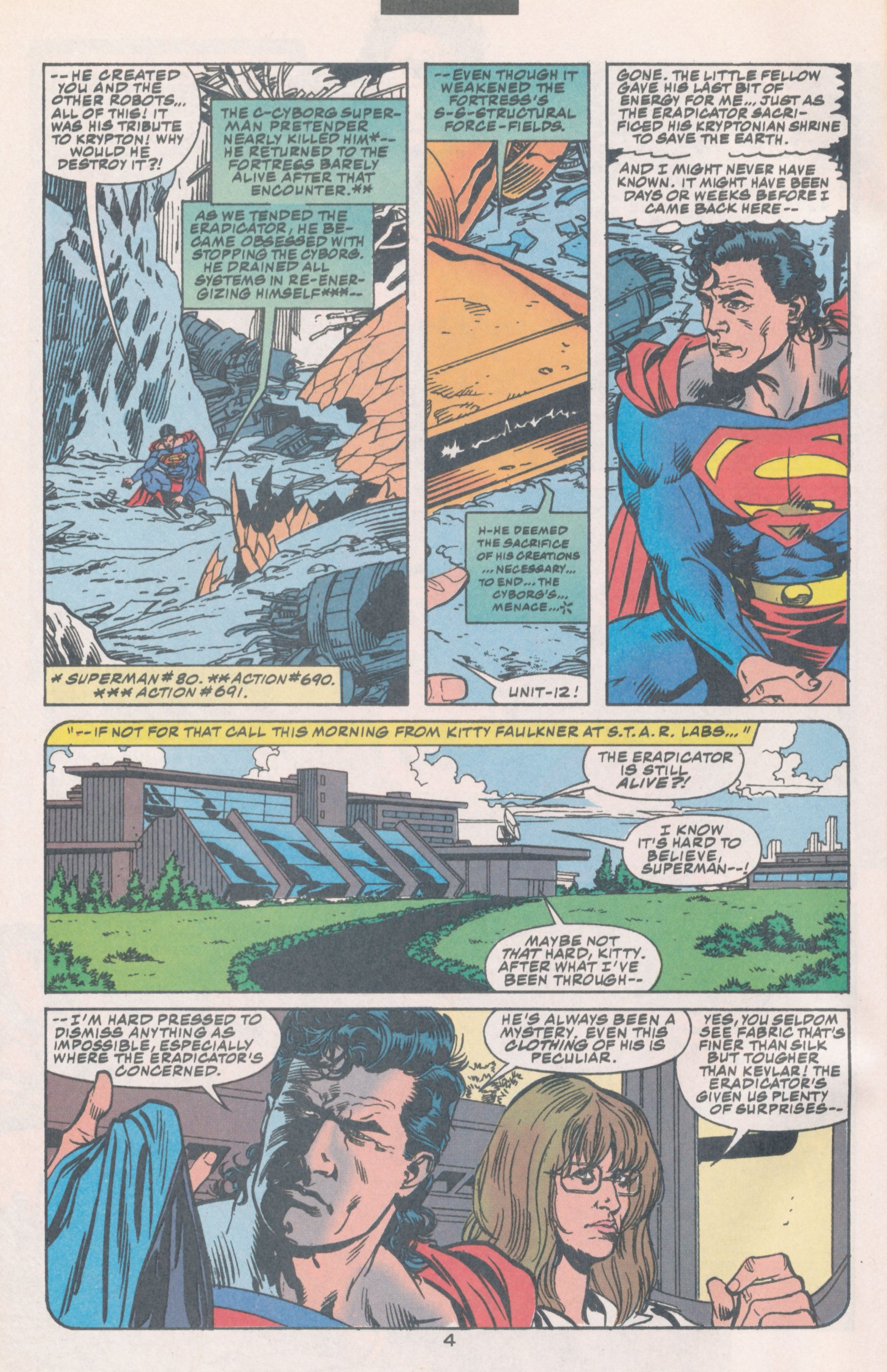 Read online Action Comics (1938) comic -  Issue #693 - 6