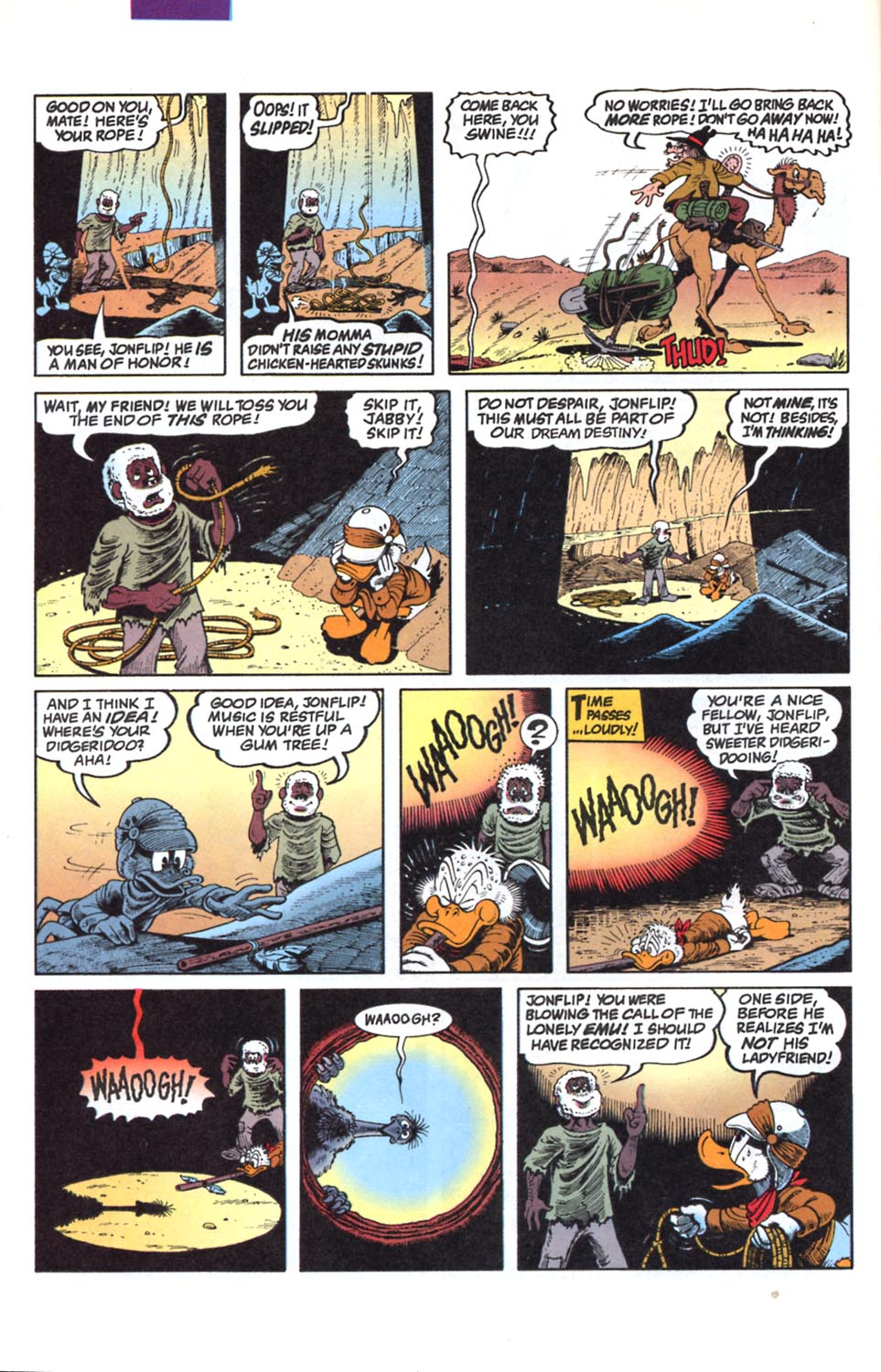 Read online Uncle Scrooge (1953) comic -  Issue #291 - 10