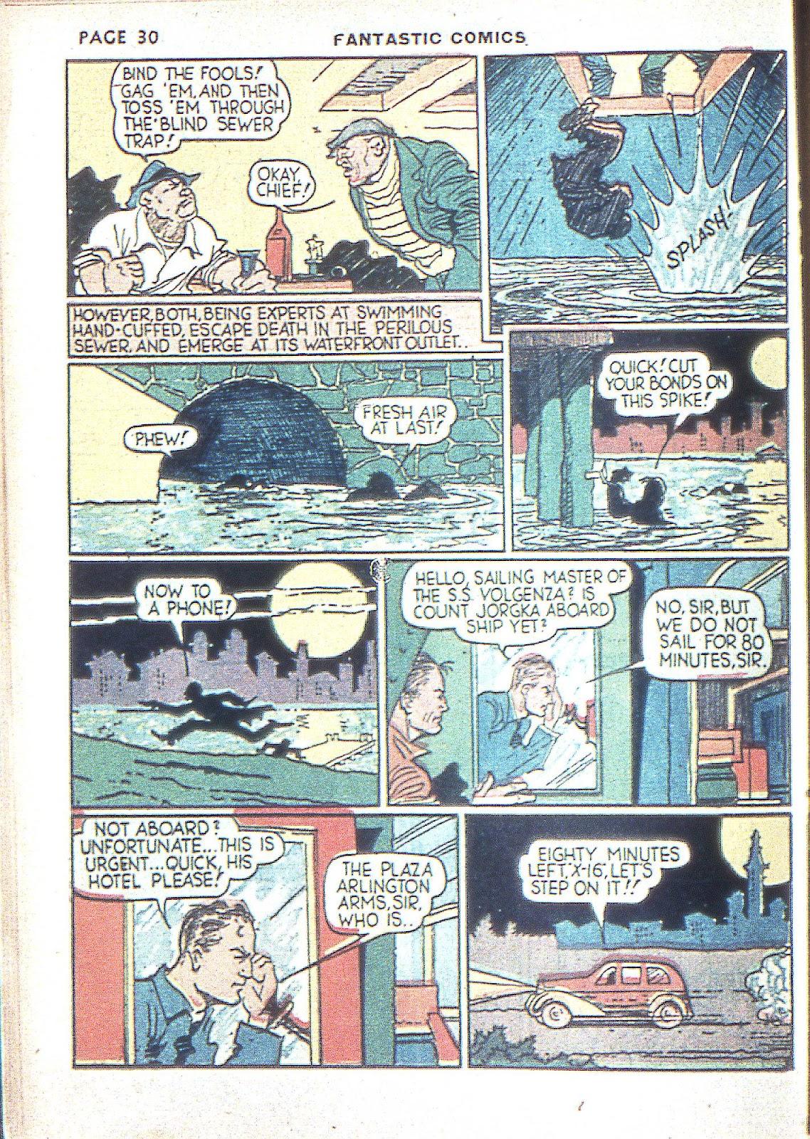 Read online Fantastic Comics comic -  Issue #3 - 33