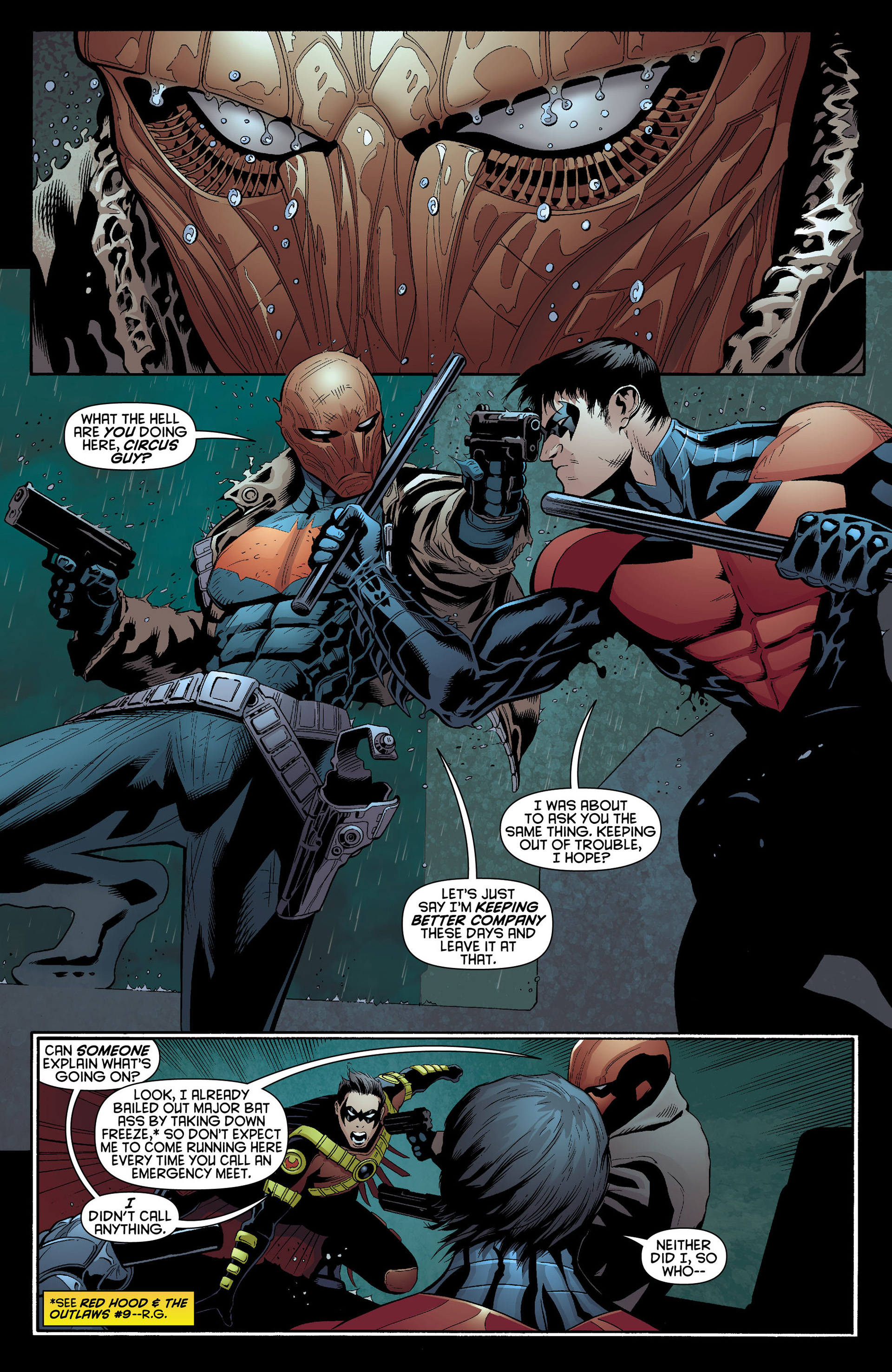 Read online Batman and Robin (2011) comic -  Issue #10 - 11