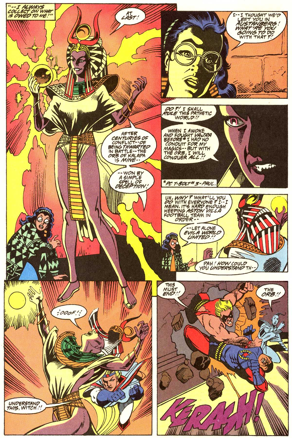 Read online Peter Cannon--Thunderbolt (1992) comic -  Issue #12 - 7