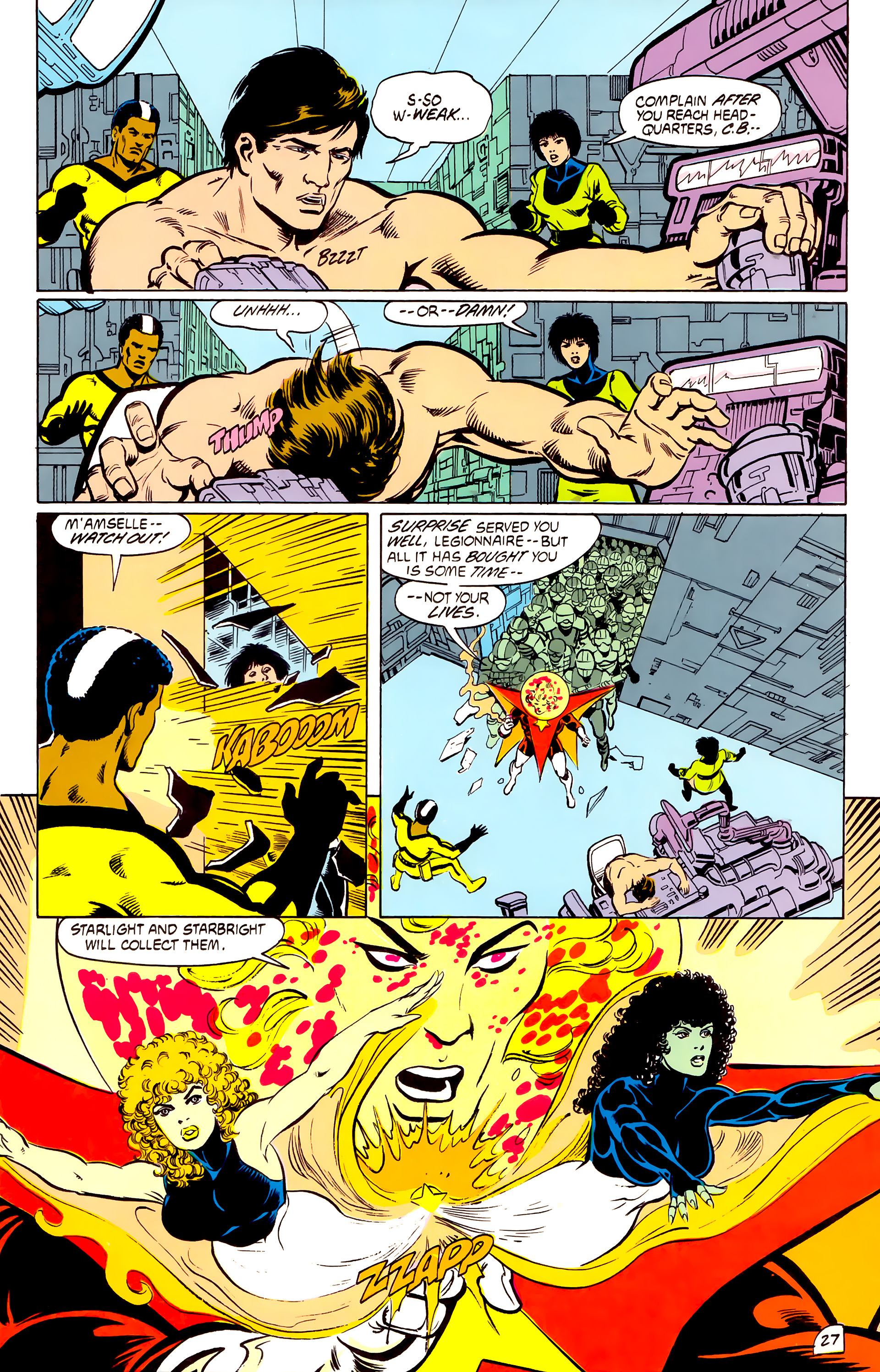 Legion of Super-Heroes (1984) _Annual_4 Page 27