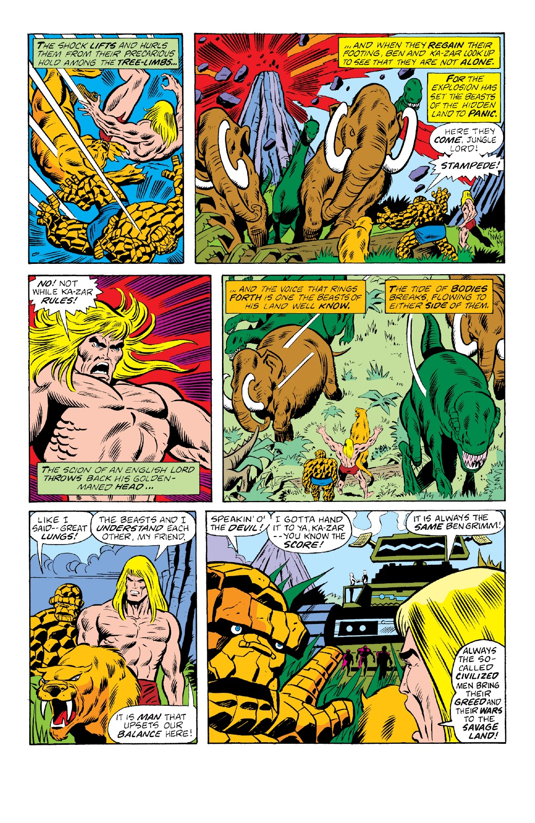 Read online Marvel Two-In-One Epic Collection: Cry Monster comic -  Issue # TPB (Part 4) - 42