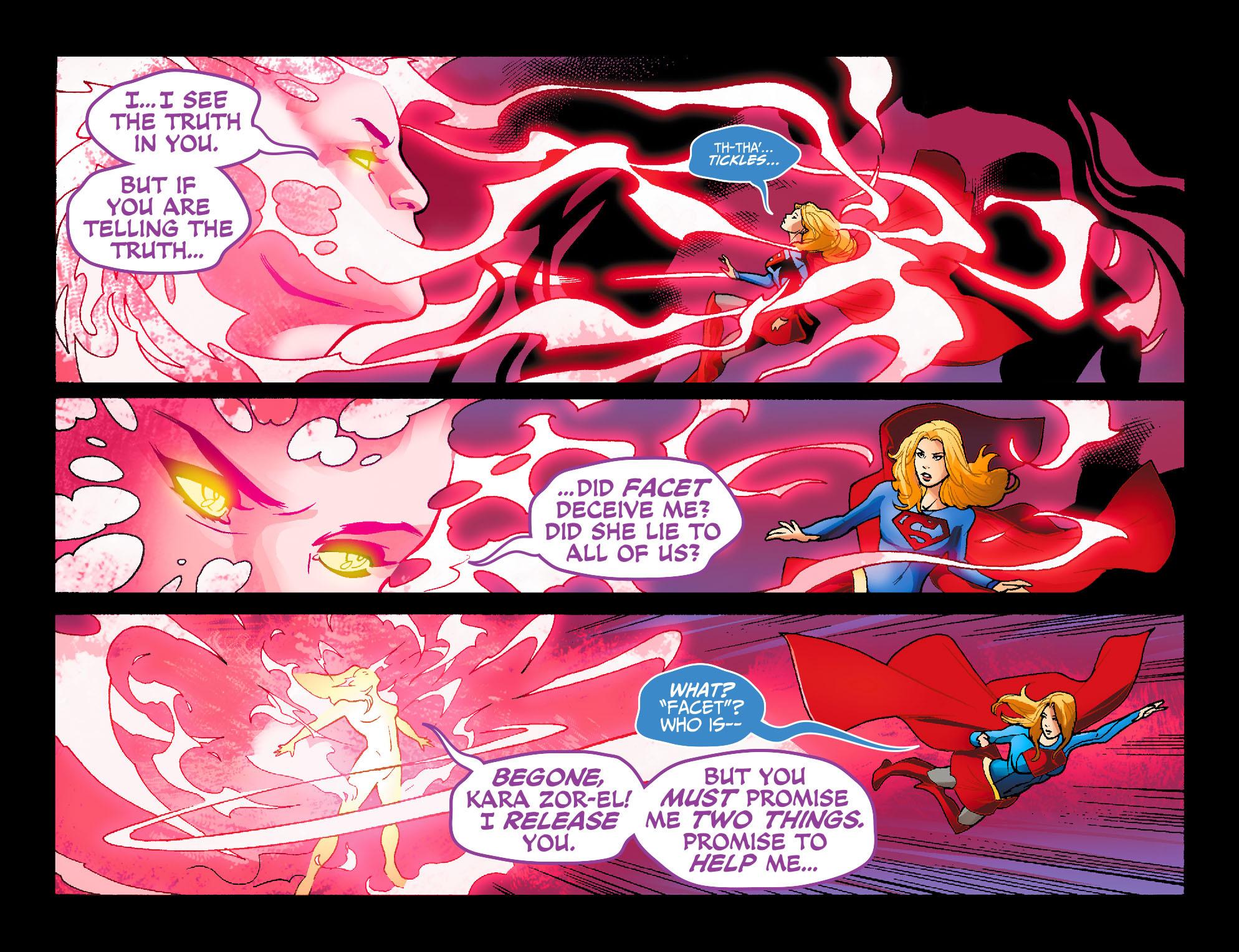 Read online Adventures of Supergirl comic -  Issue #7 - 20