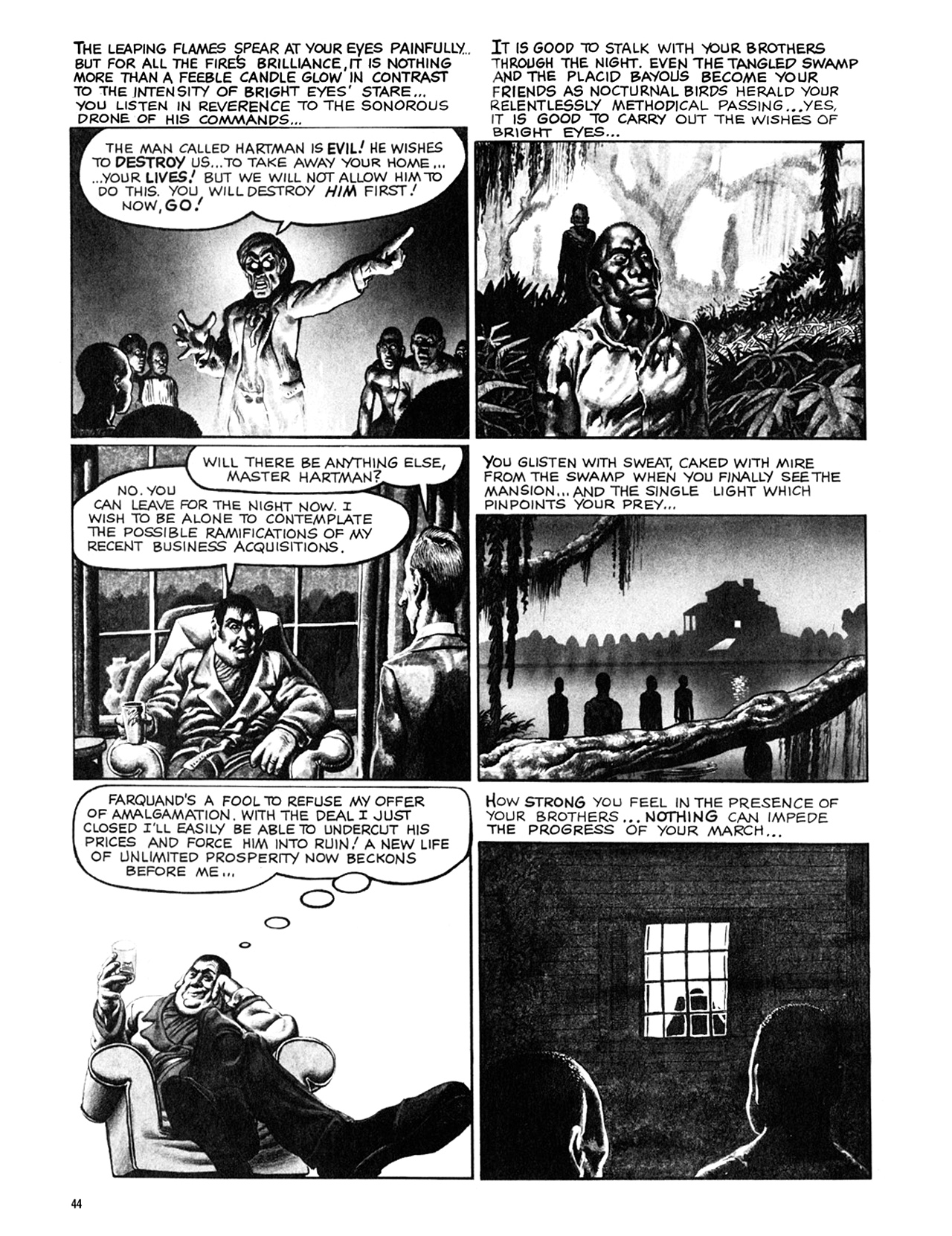 Read online Eerie Archives comic -  Issue # TPB 9 - 45
