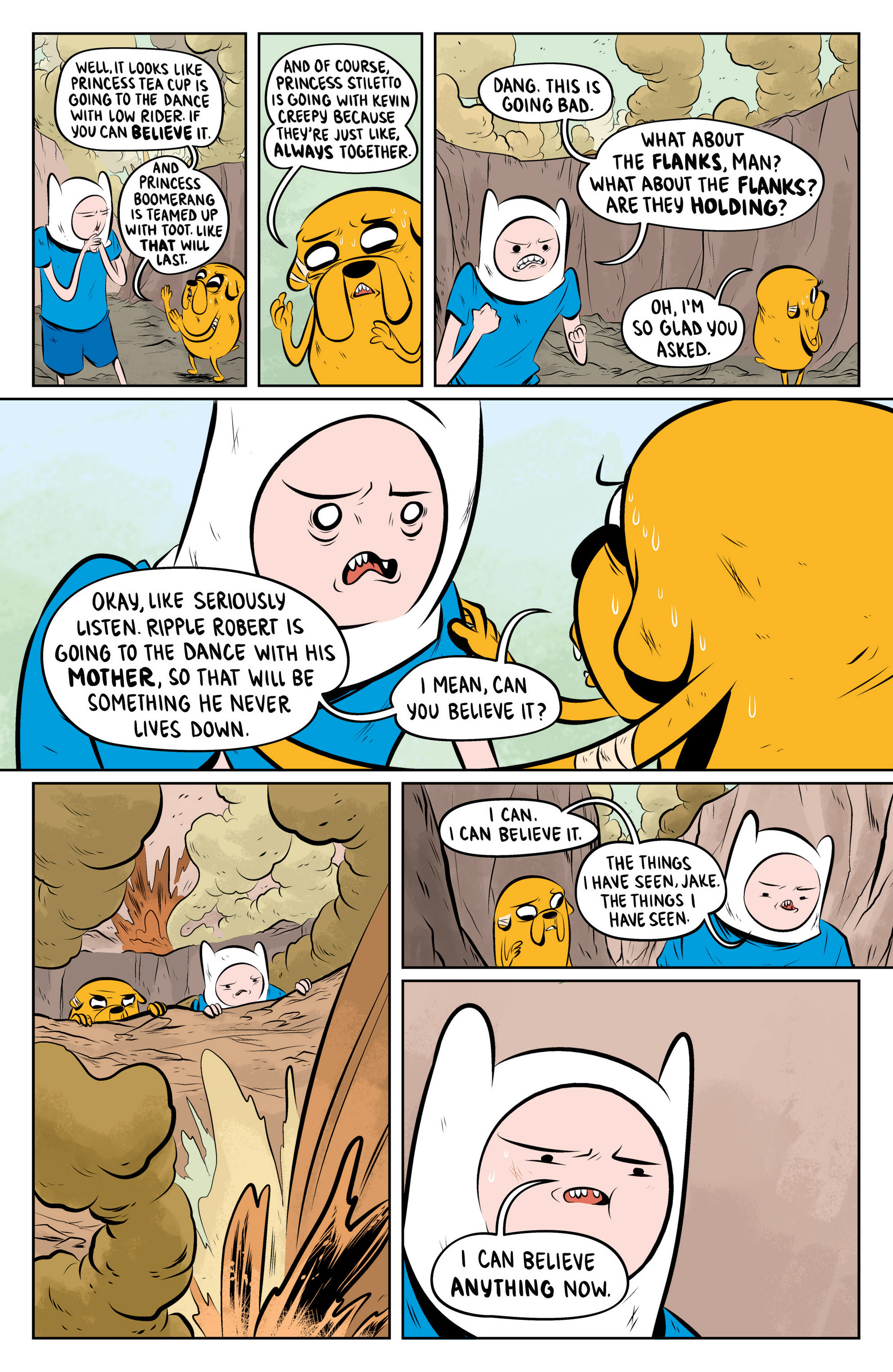 Read online Adventure Time: The Flip Side comic -  Issue #4 - 9