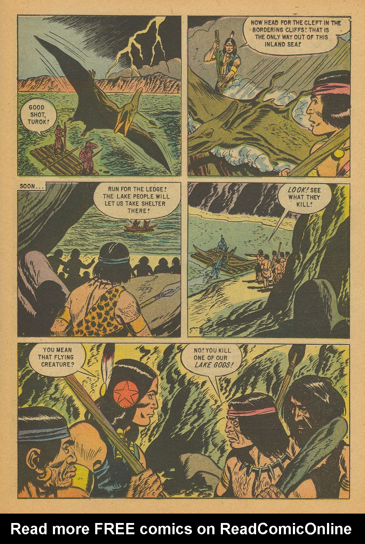 Read online Turok, Son of Stone comic -  Issue #14 - 23