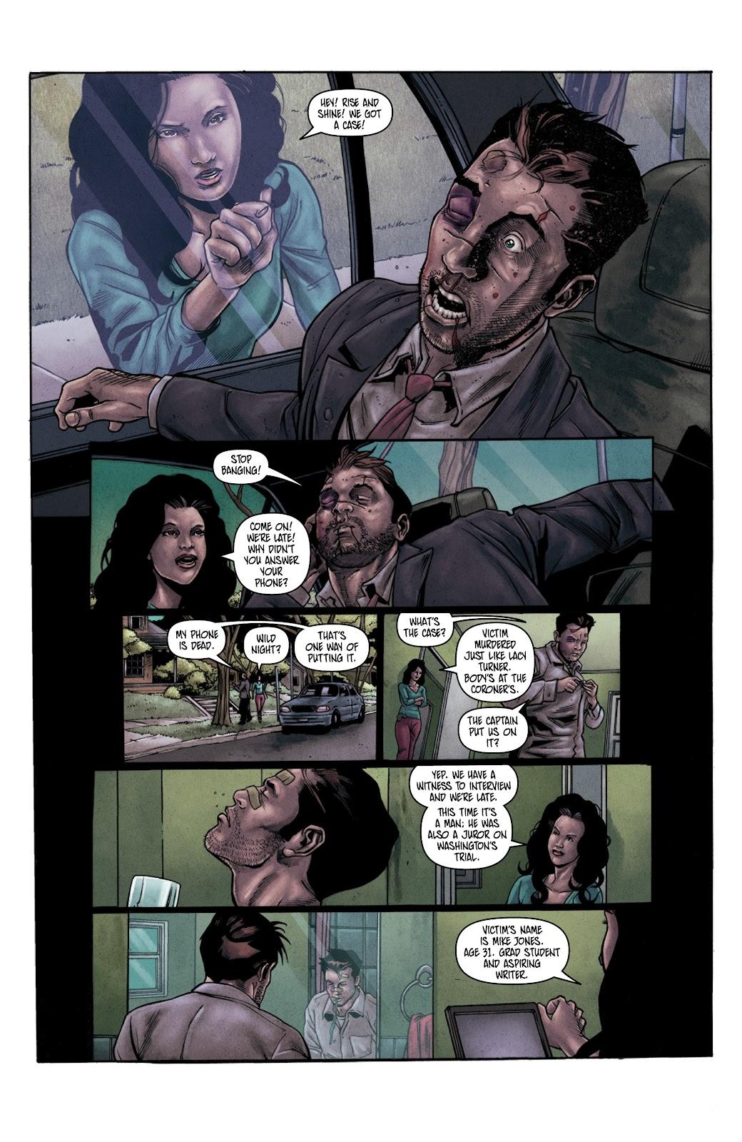 Read online Vindication comic -  Issue #3 - 15