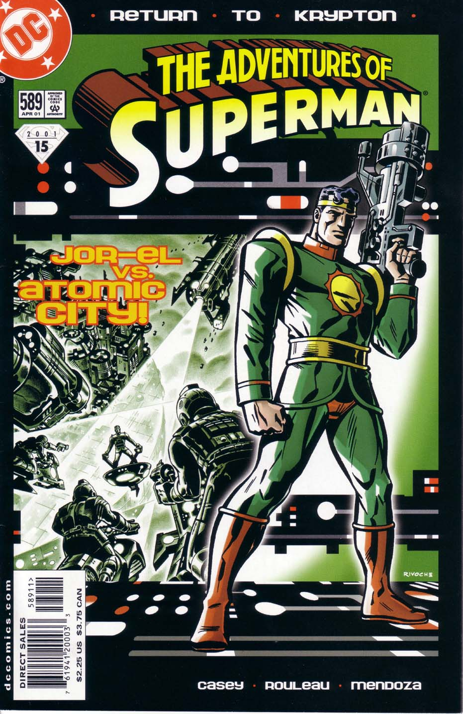 Read online Adventures of Superman (1987) comic -  Issue #589 - 1