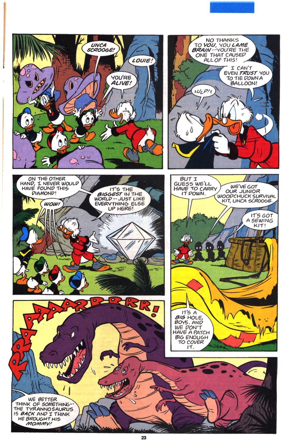 Read online Uncle Scrooge (1953) comic -  Issue #257 - 25