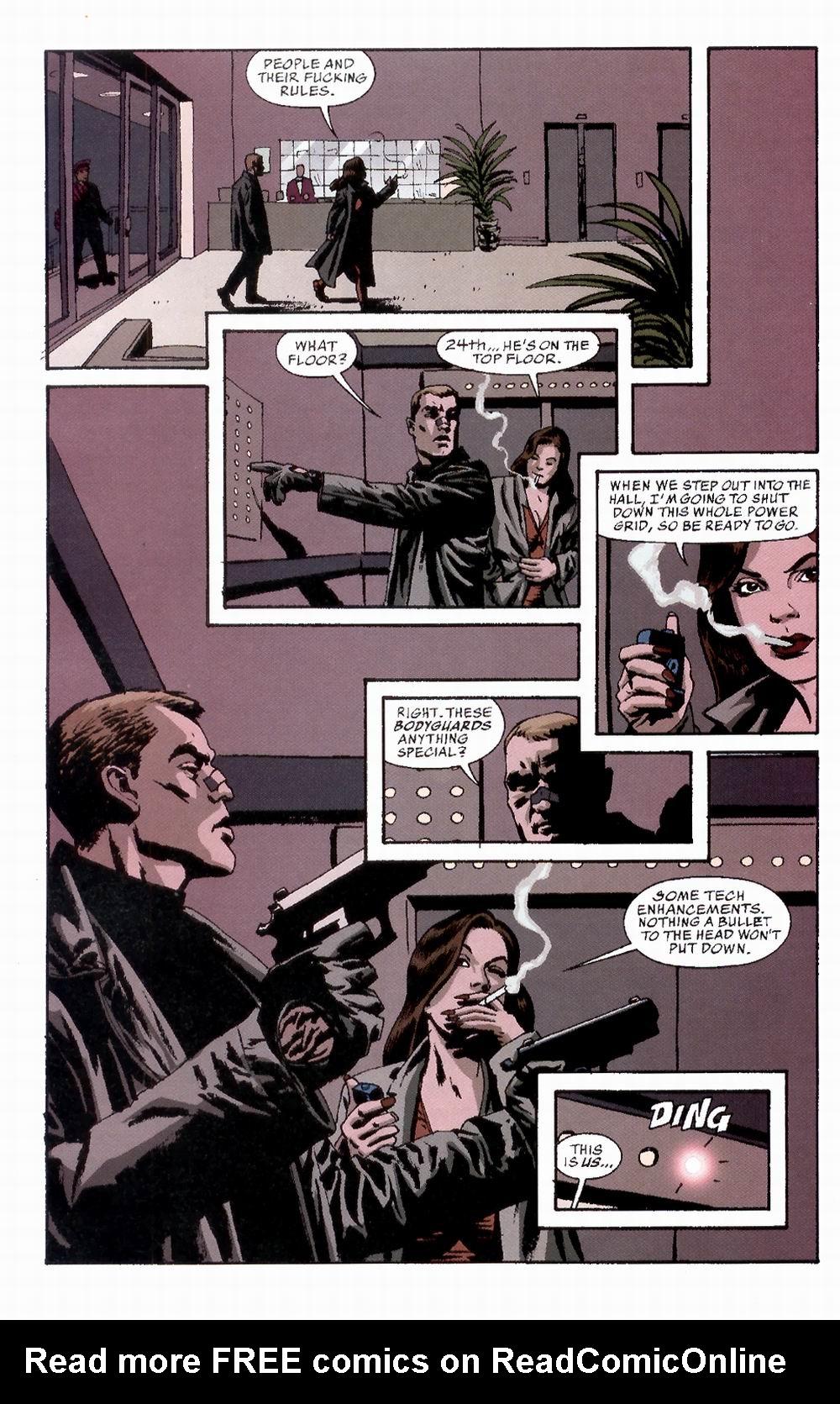 Read online Sleeper comic -  Issue #3 - 10