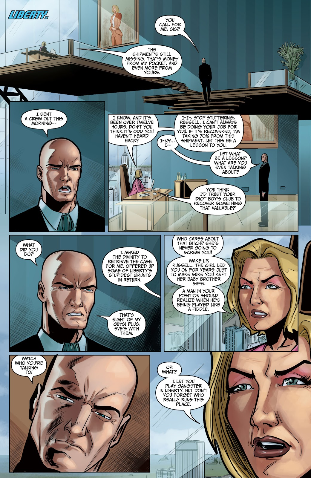 The Courier: Liberty & Death issue 2 - Page 31