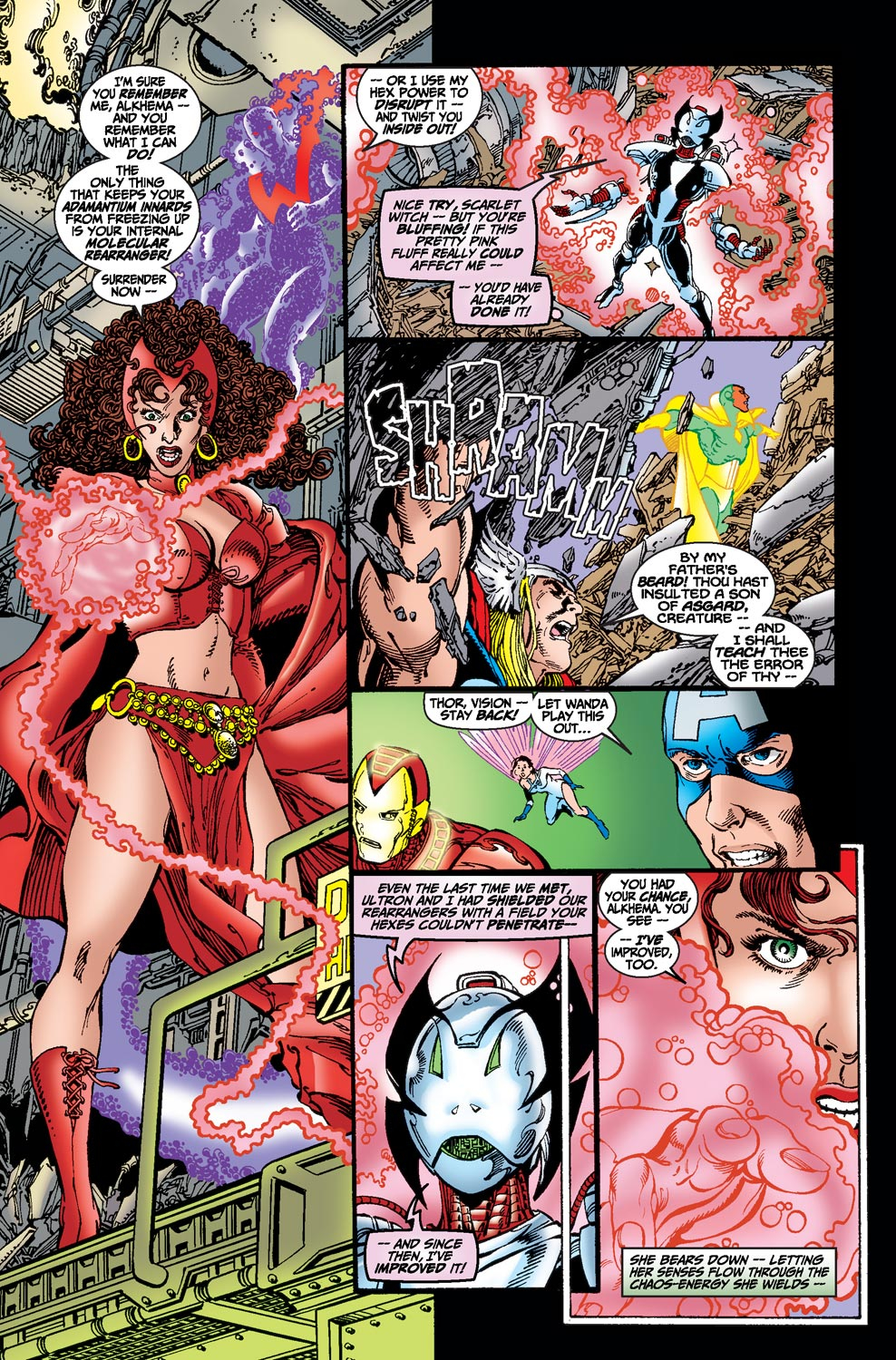 Read online Avengers (1998) comic -  Issue #19 - 20