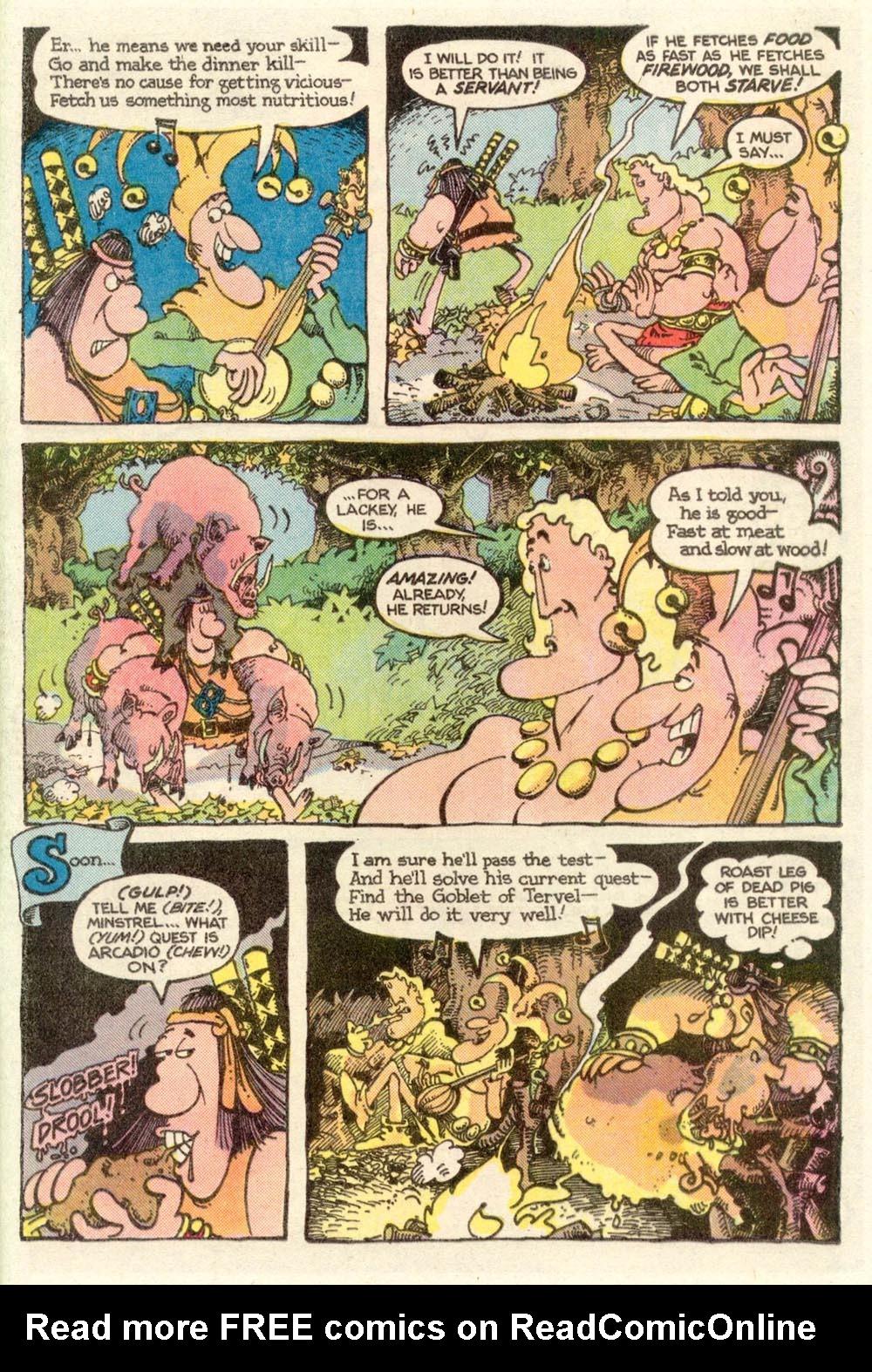 Read online Sergio Aragonés Groo the Wanderer comic -  Issue #10 - 9