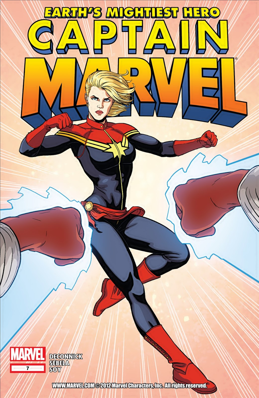 Captain Marvel (2012) issue 7 - Page 1
