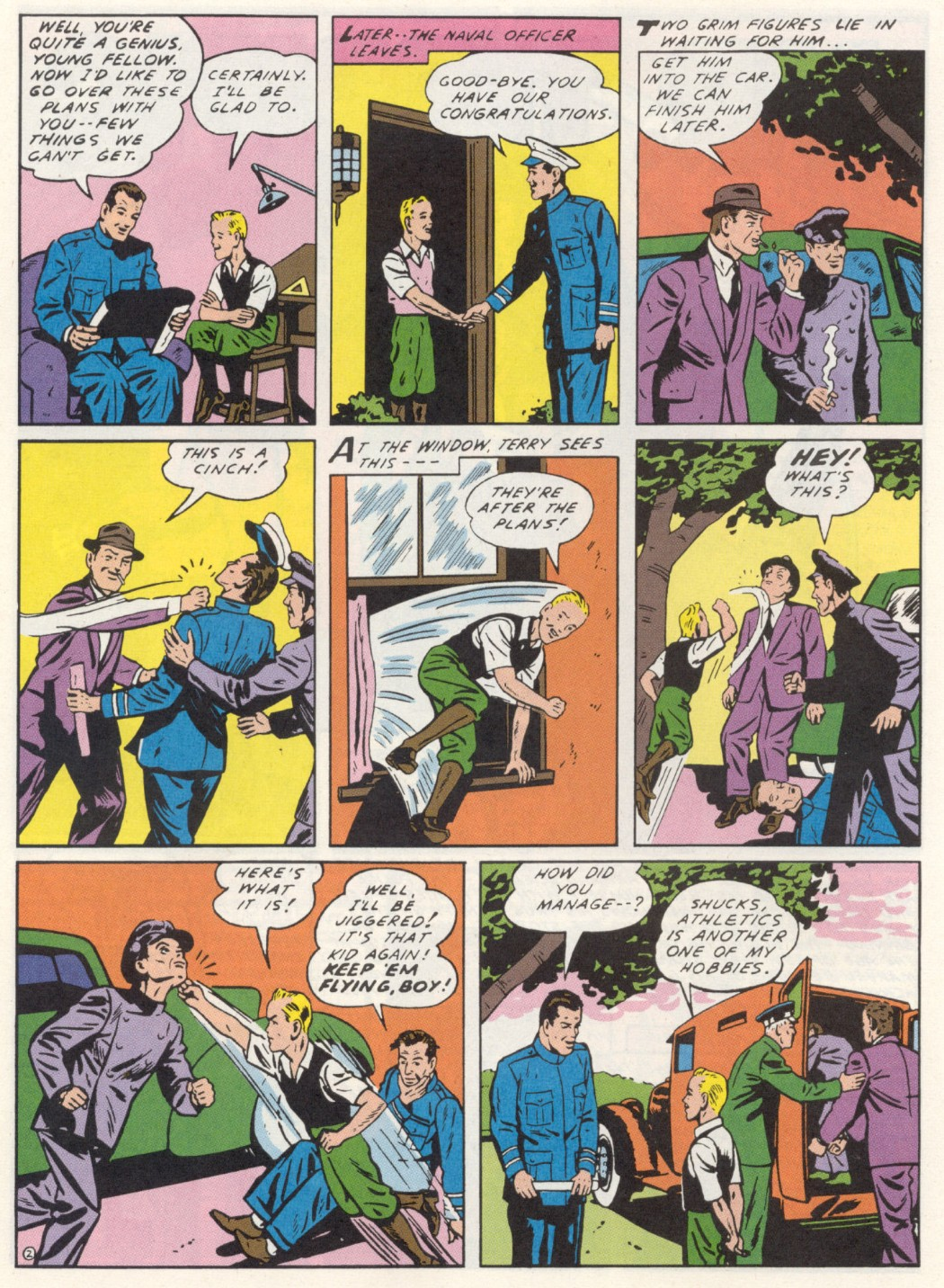 Read online Sensation (Mystery) Comics comic -  Issue #1 - 26