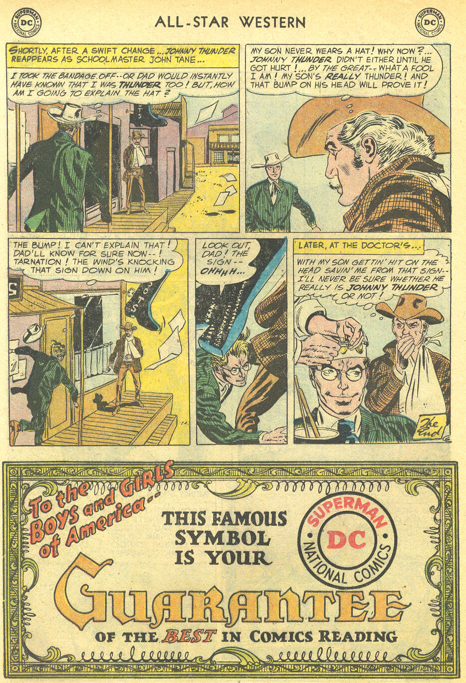 Read online All-Star Western (1951) comic -  Issue #95 - 16