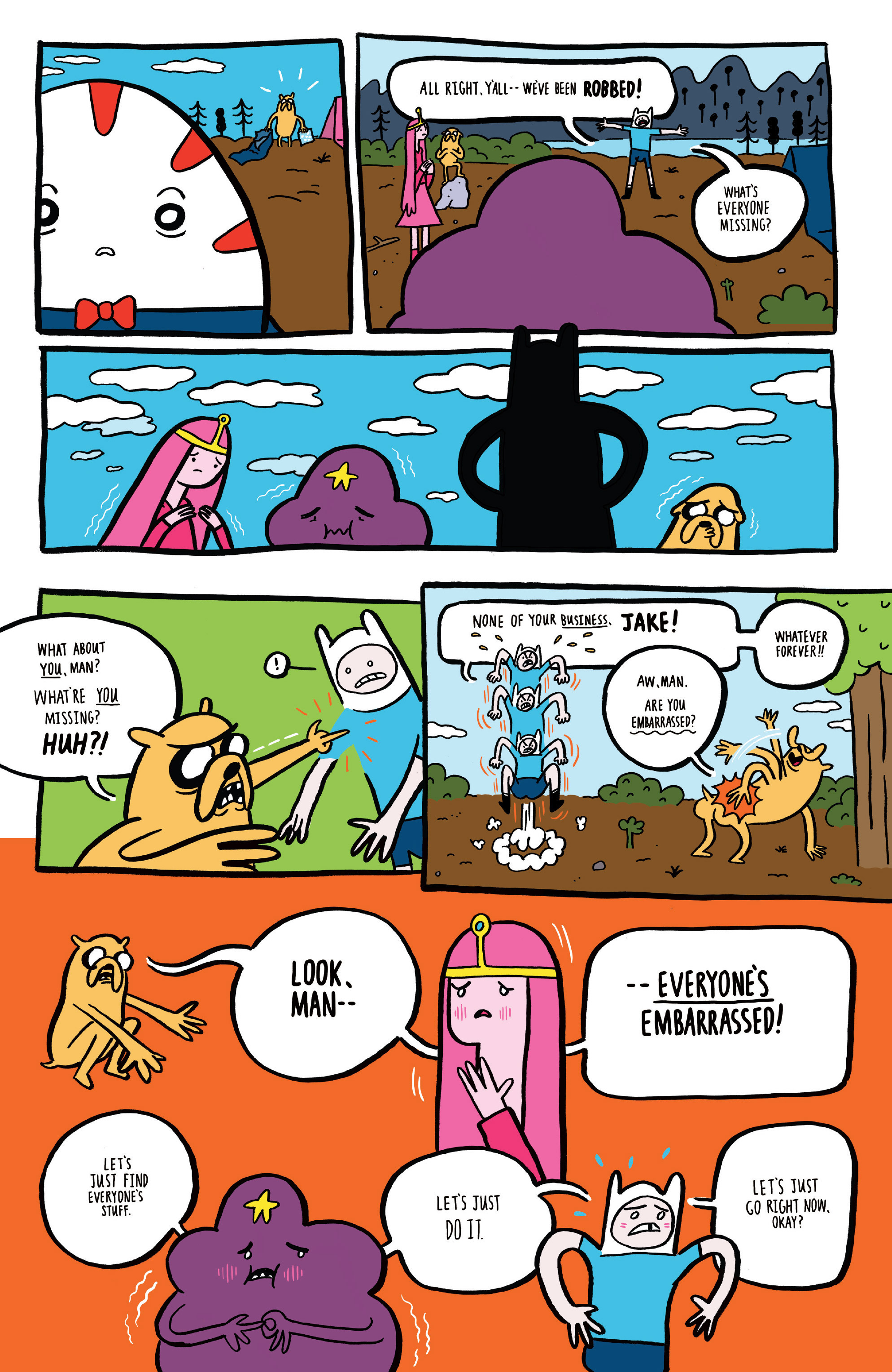 Read online Adventure Time comic -  Issue #45 - 29