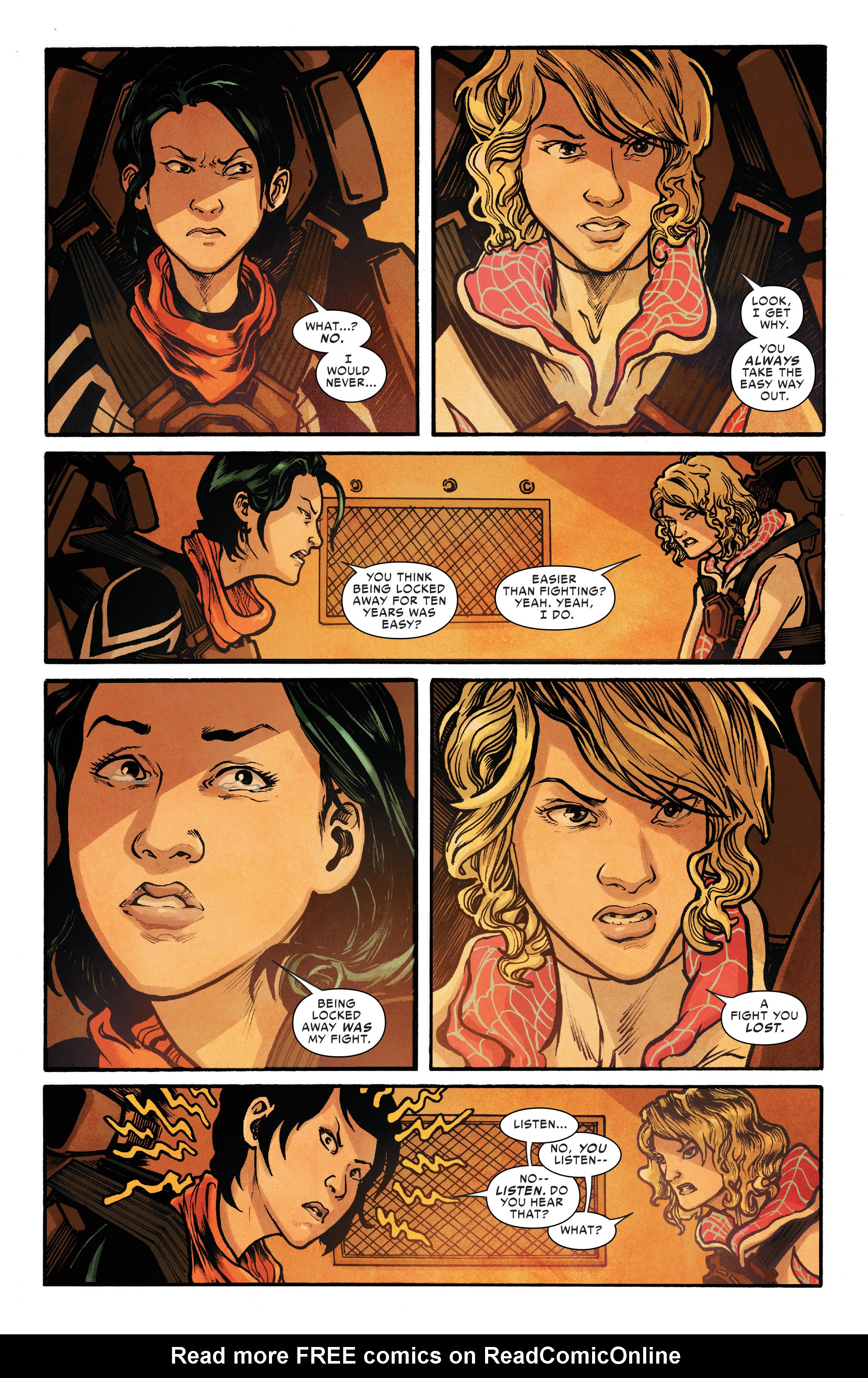 Read online Silk (2016) comic -  Issue #8 - 11