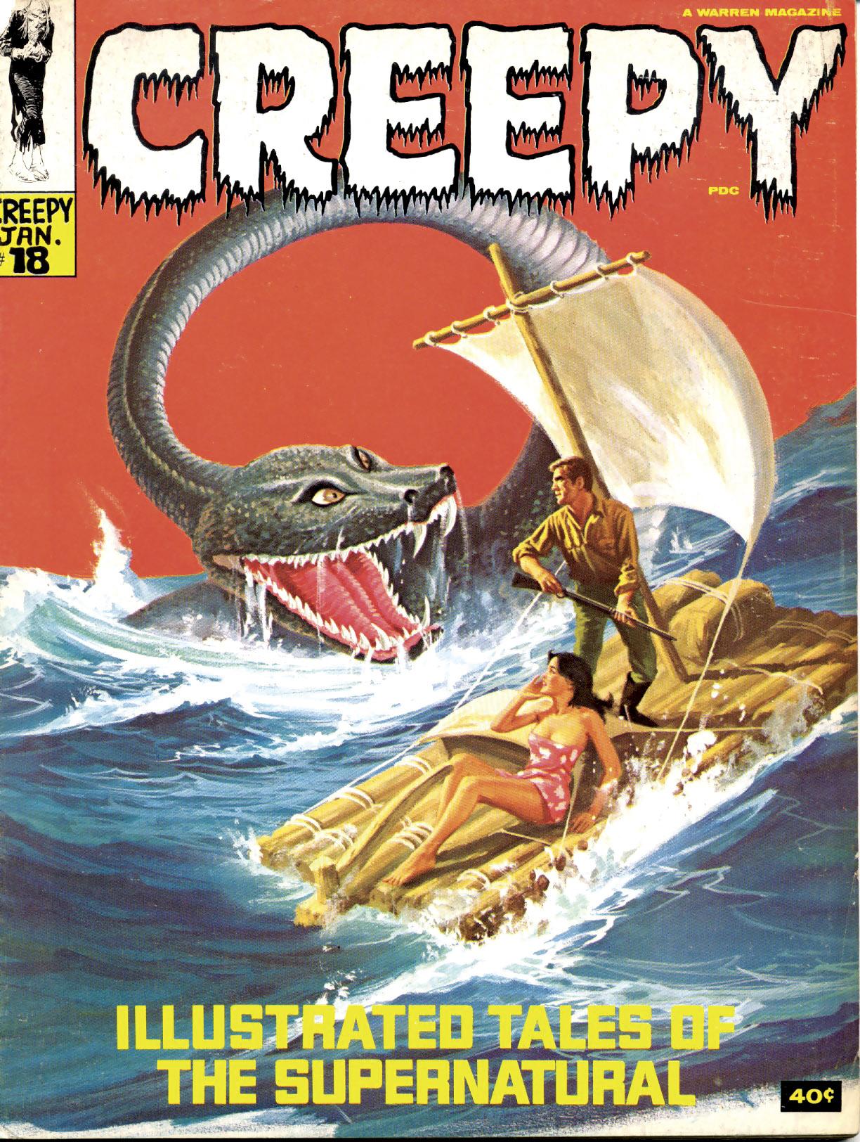 Creepy (1964) 18 Page 1