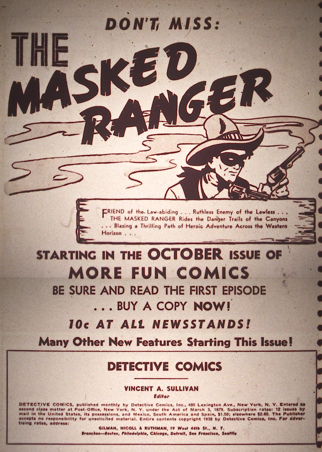 Detective Comics (1937) 20 Page 1