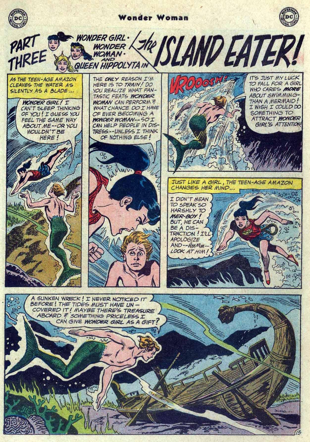 Read online Wonder Woman (1942) comic -  Issue #121 - 19