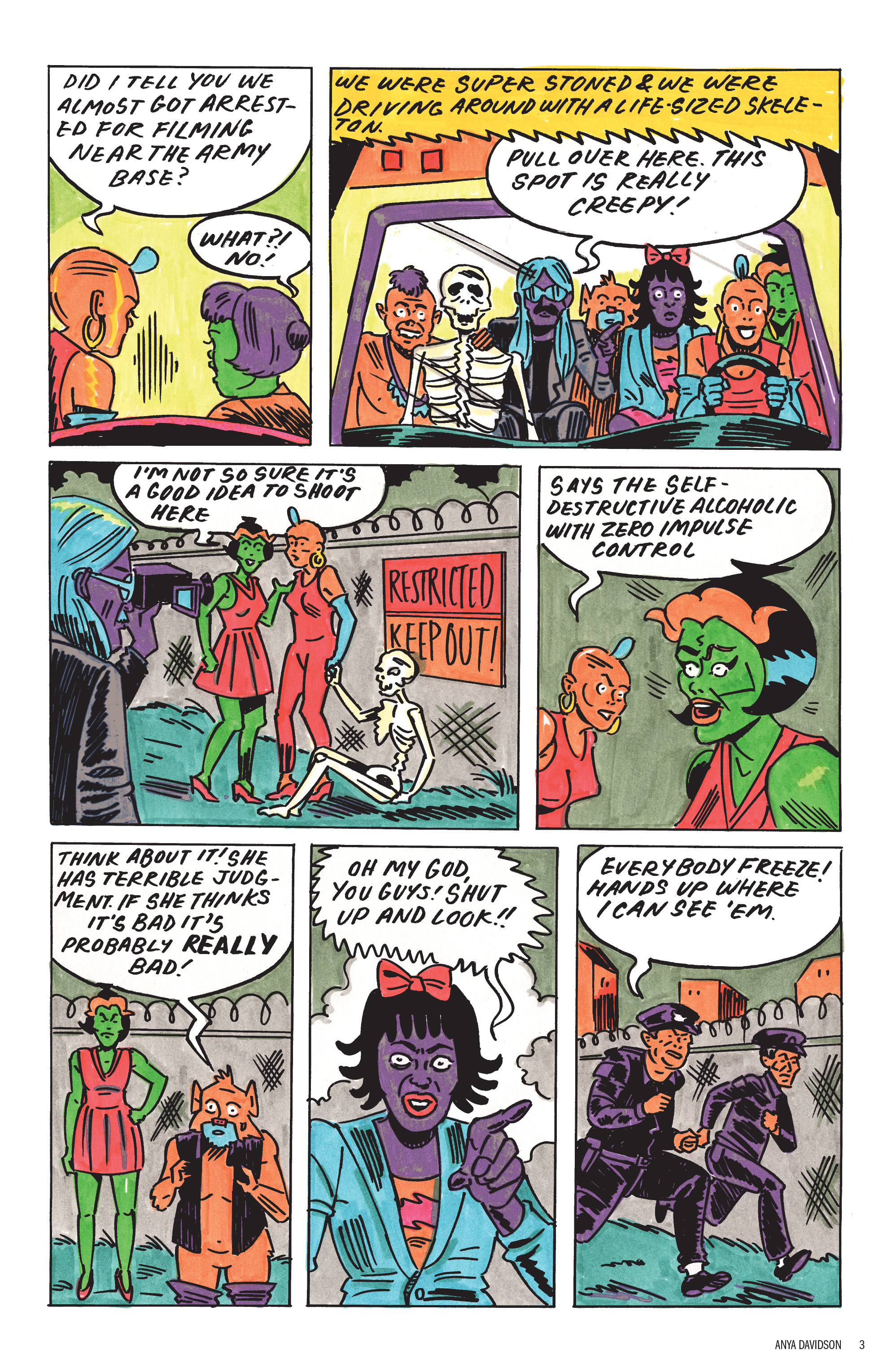 Read online Free Comic Book Day 2017 comic -  Issue # World's Greatest Cartoonists - 4