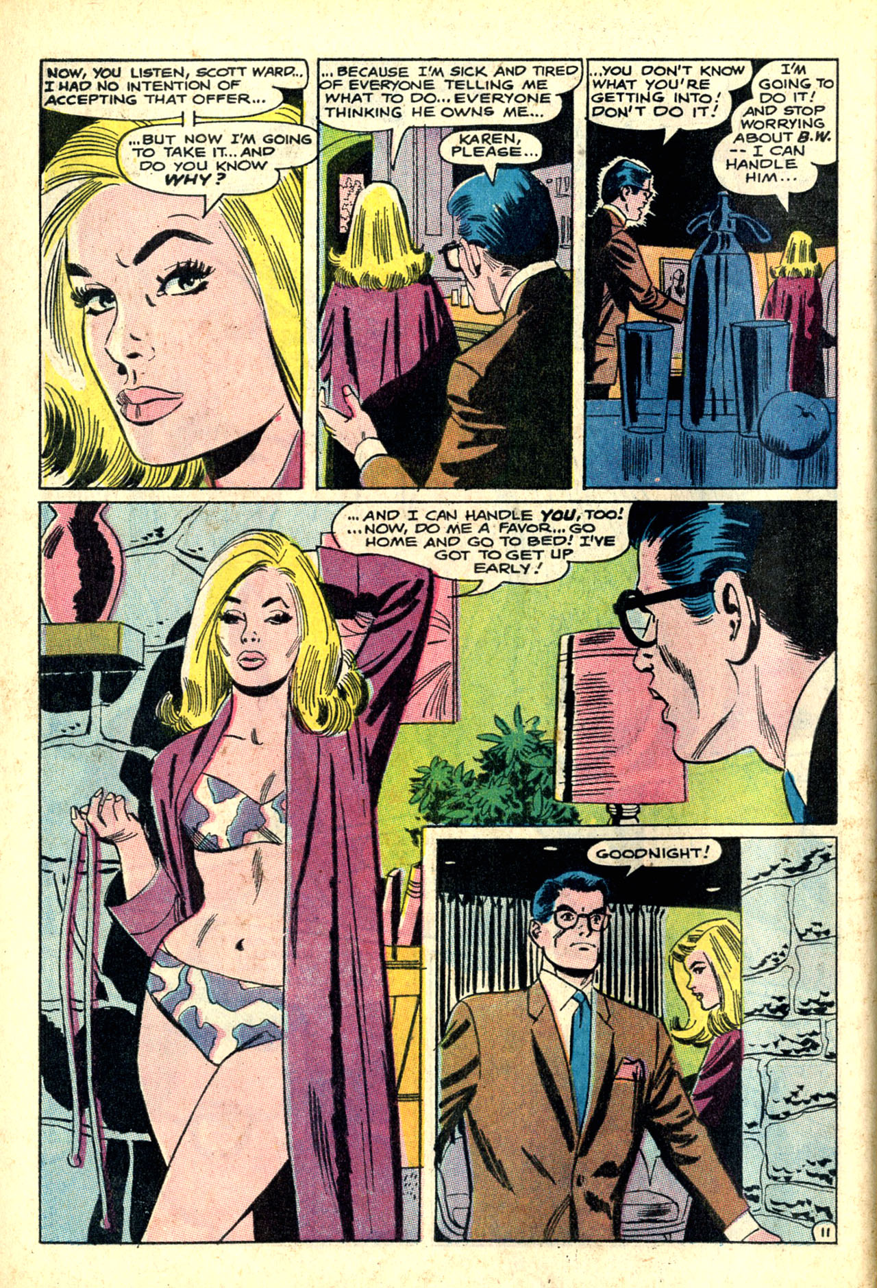 Read online Secret Hearts comic -  Issue #132 - 63