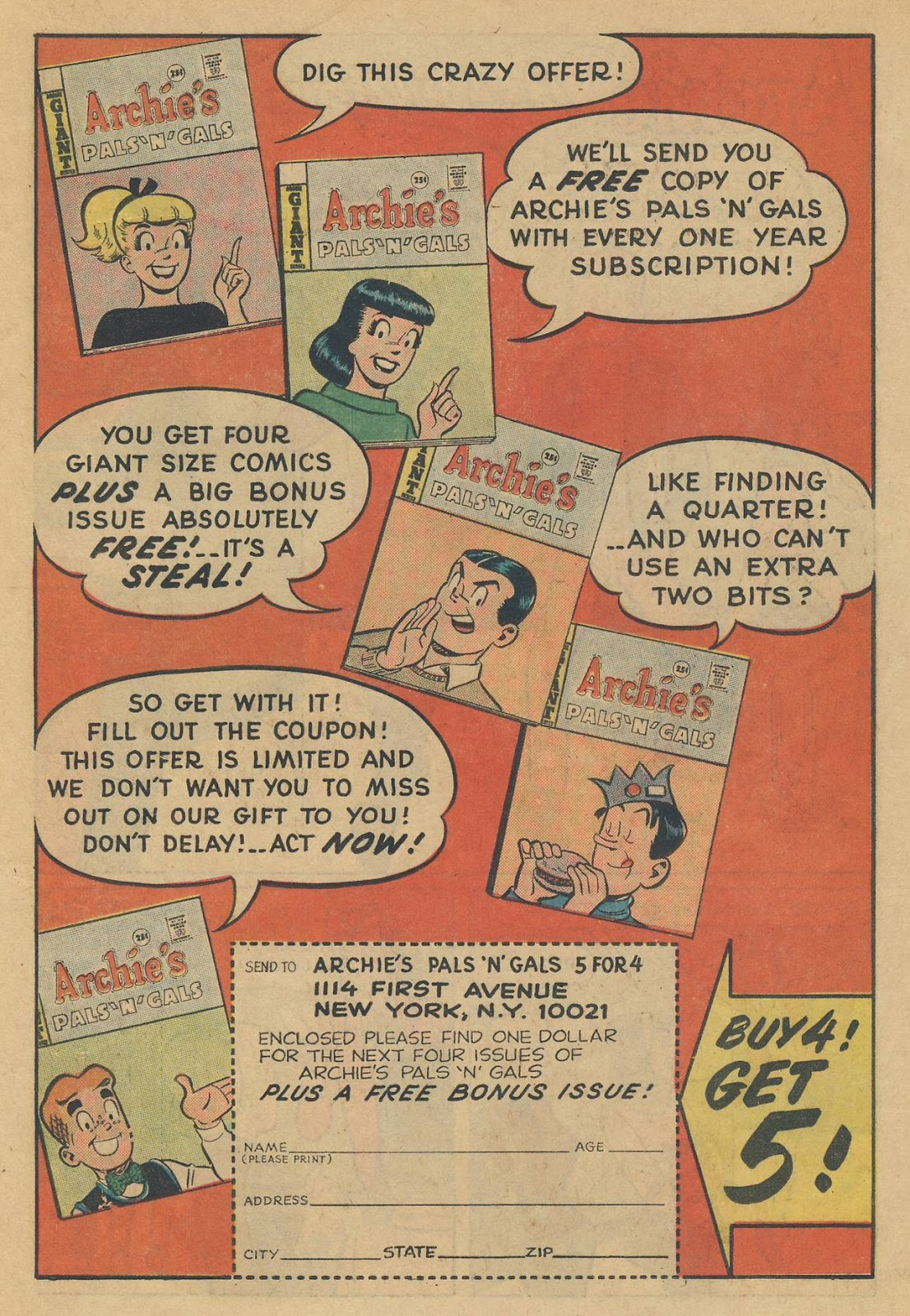 Read online Archie (1960) comic -  Issue #170 - 19