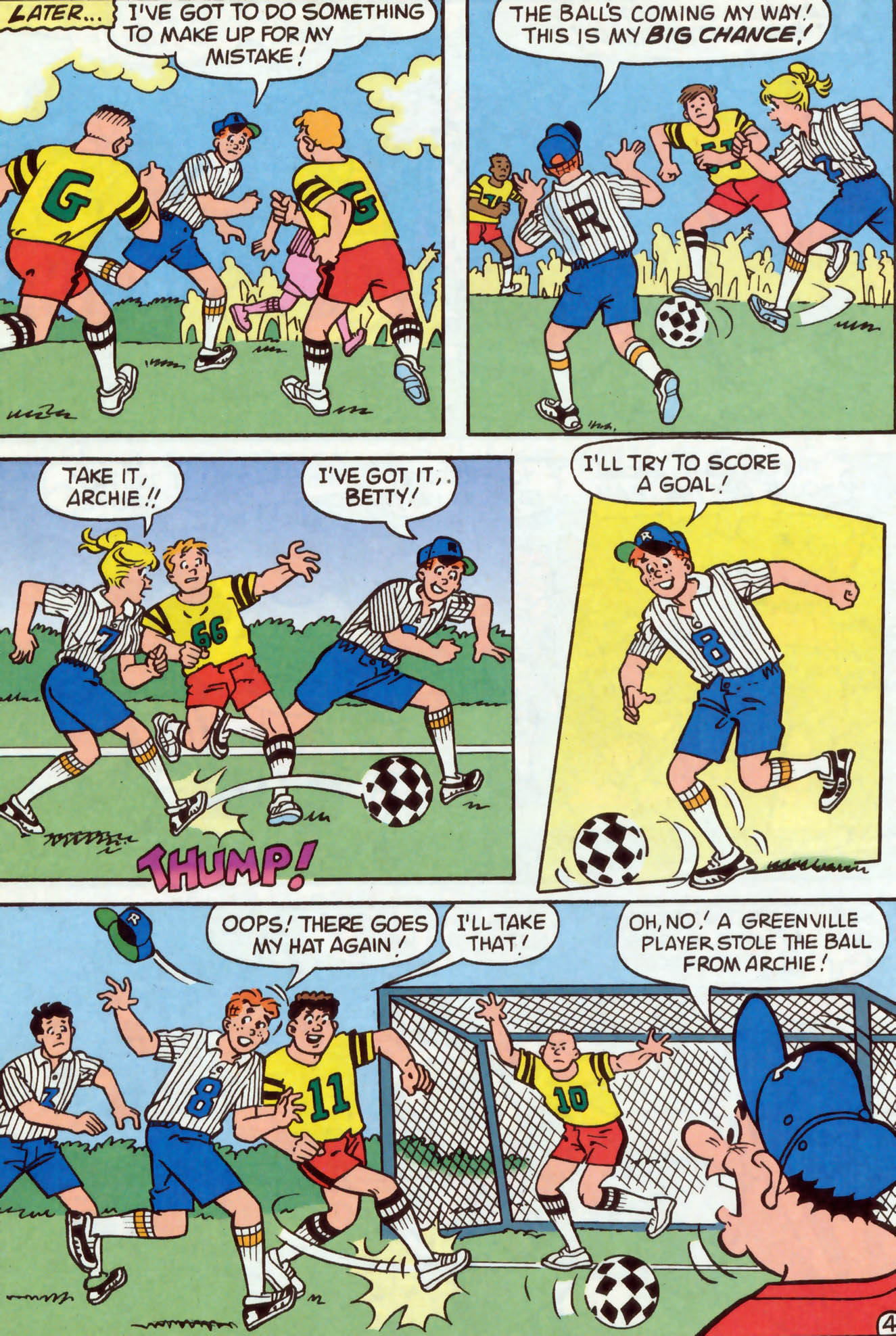 Read online Archie (1960) comic -  Issue #477 - 23