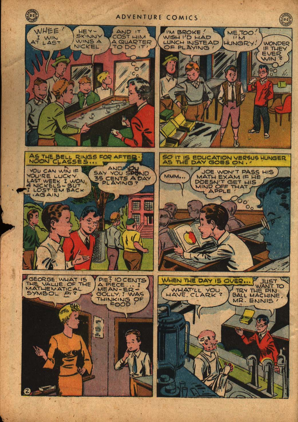 Read online Adventure Comics (1938) comic -  Issue #109 - 4