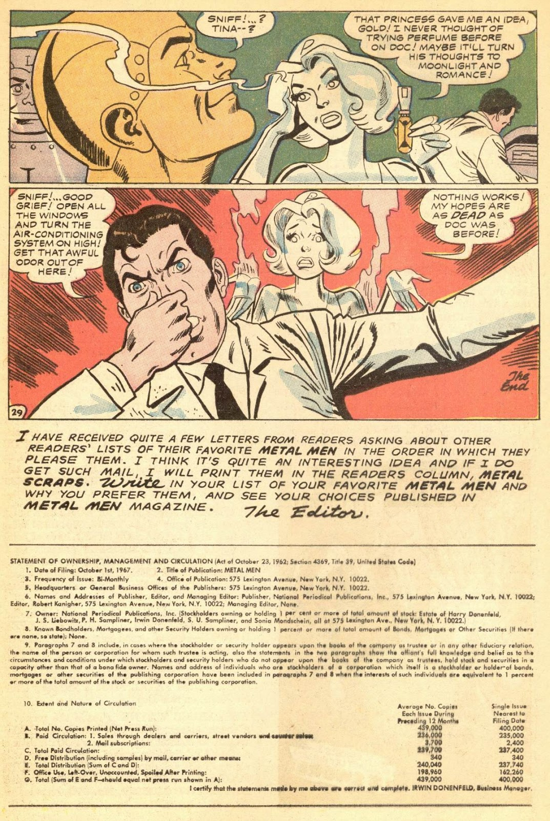 Metal Men (1963) issue 30 - Page 33