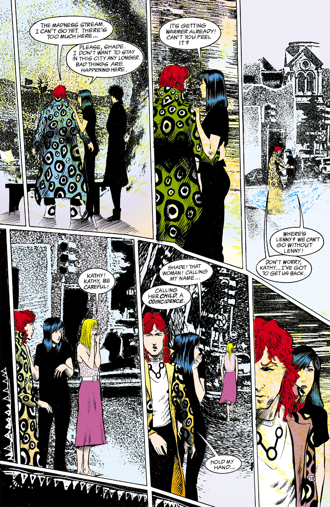 Read online Shade, the Changing Man comic -  Issue #12 - 20