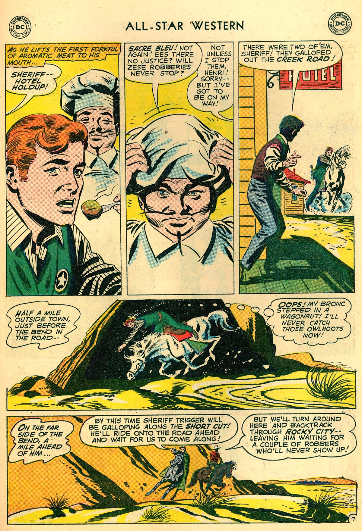 Read online All-Star Western (1951) comic -  Issue #110 - 31