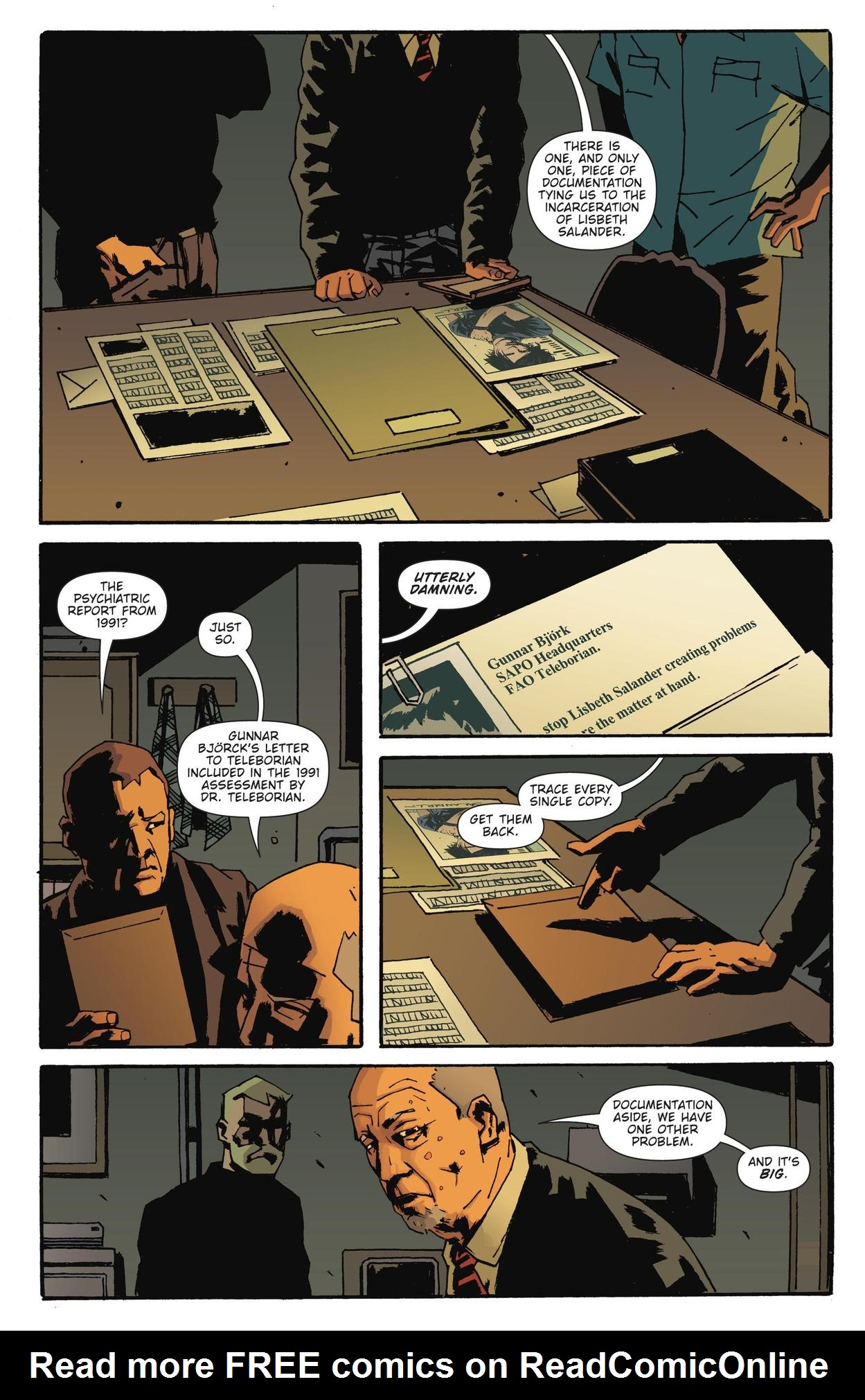 Read online The Girl Who Kicked The Hornet's Nest comic -  Issue # TPB - 82