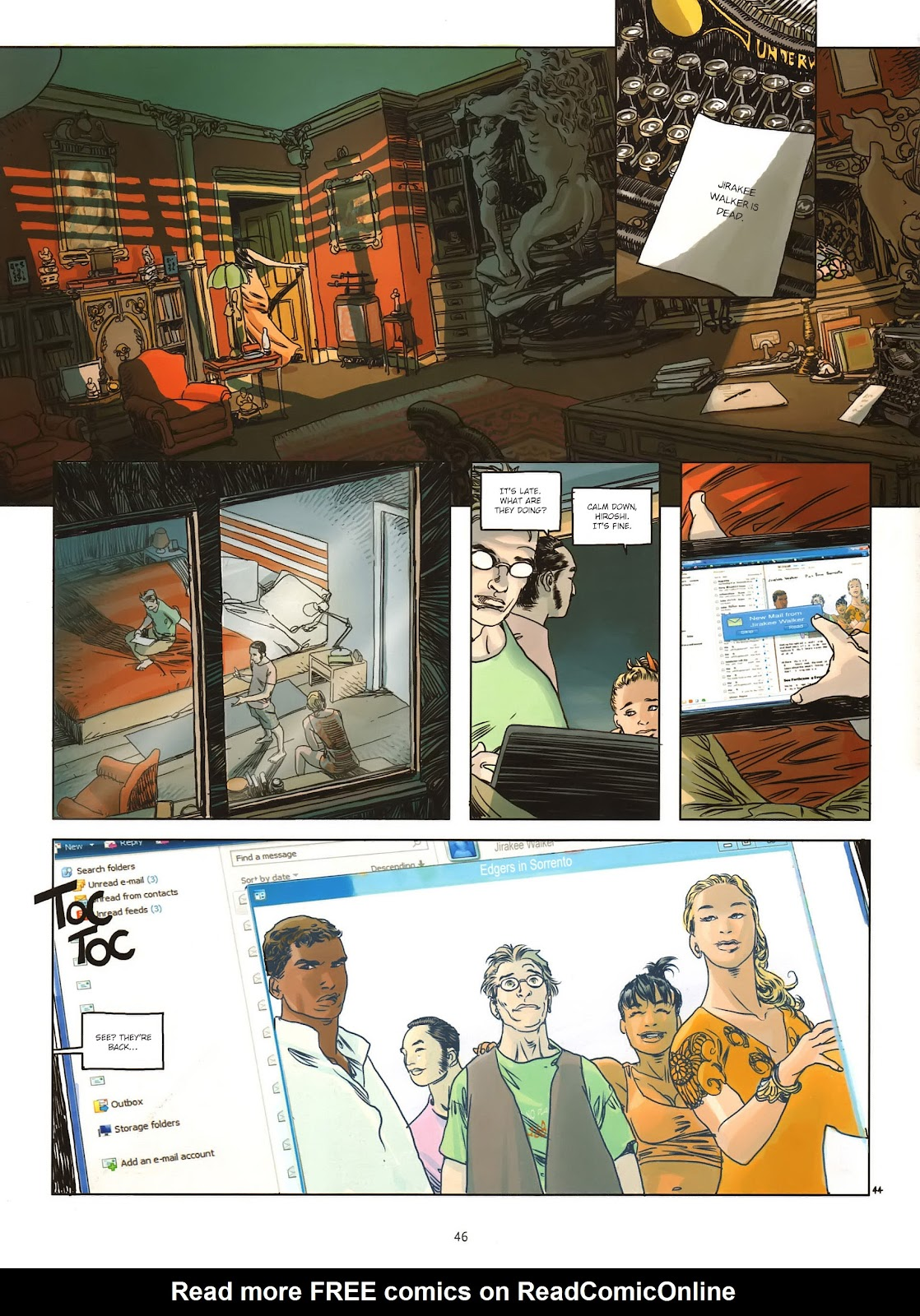 Read online Cutting Edge (2013) comic -  Issue #1 - 44