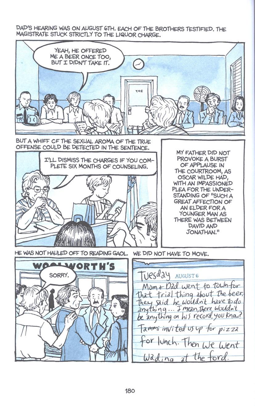 Read online Fun Home: A Family Tragicomic comic -  Issue # TPB - 186