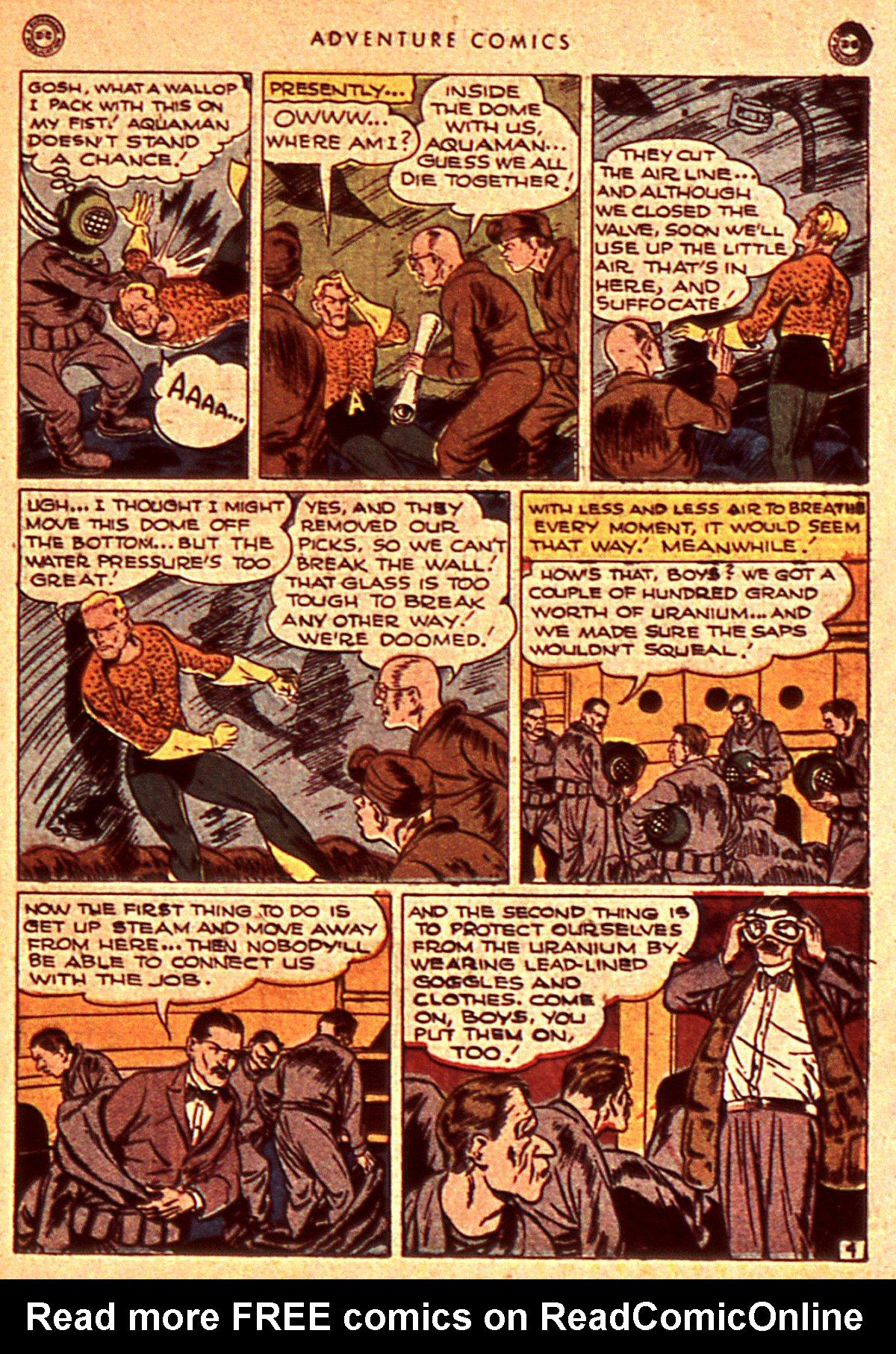 Read online Adventure Comics (1938) comic -  Issue #106 - 45