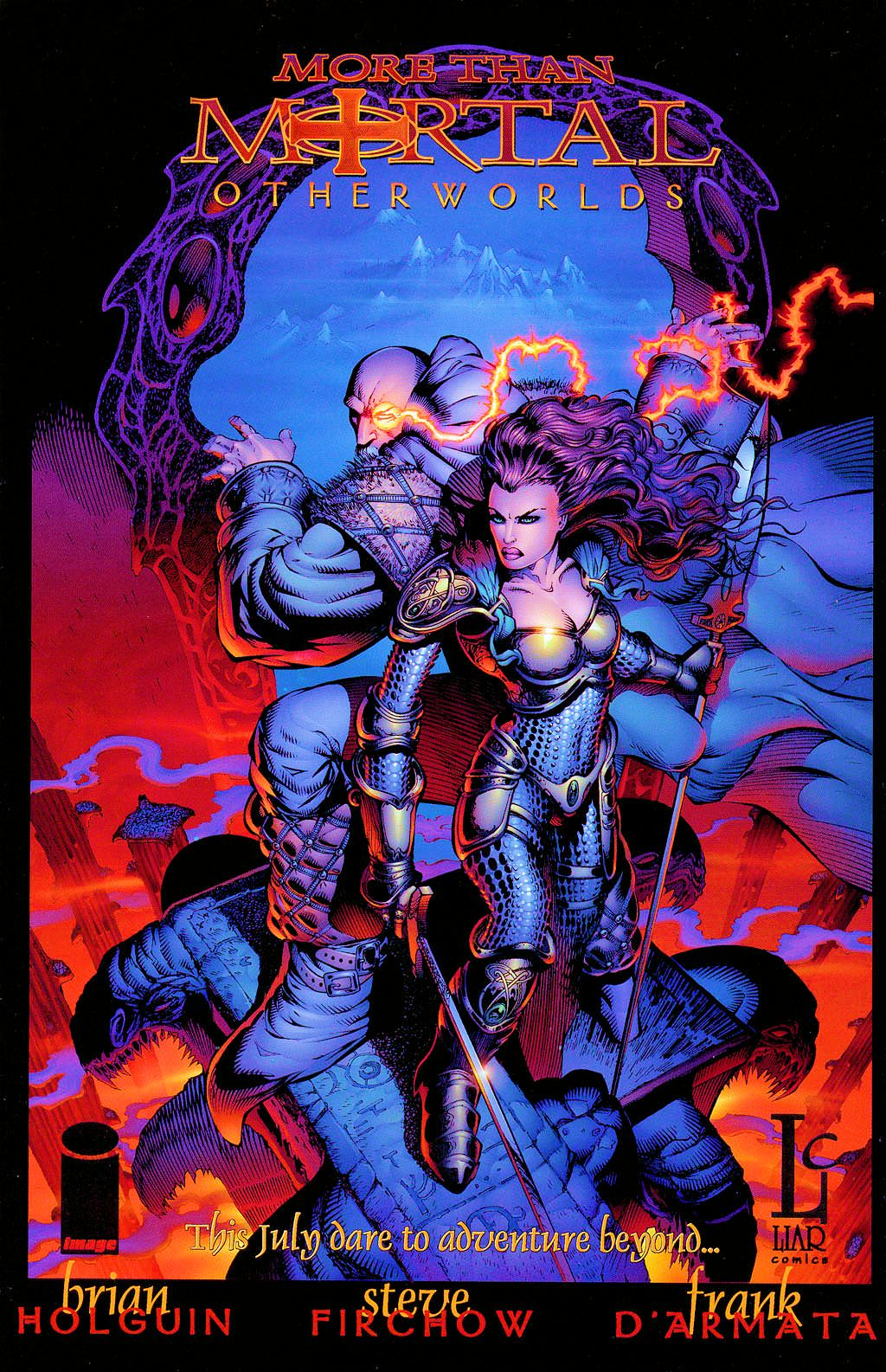 Read online Lady Pendragon / More Than Mortal comic -  Issue # _Preview - 20