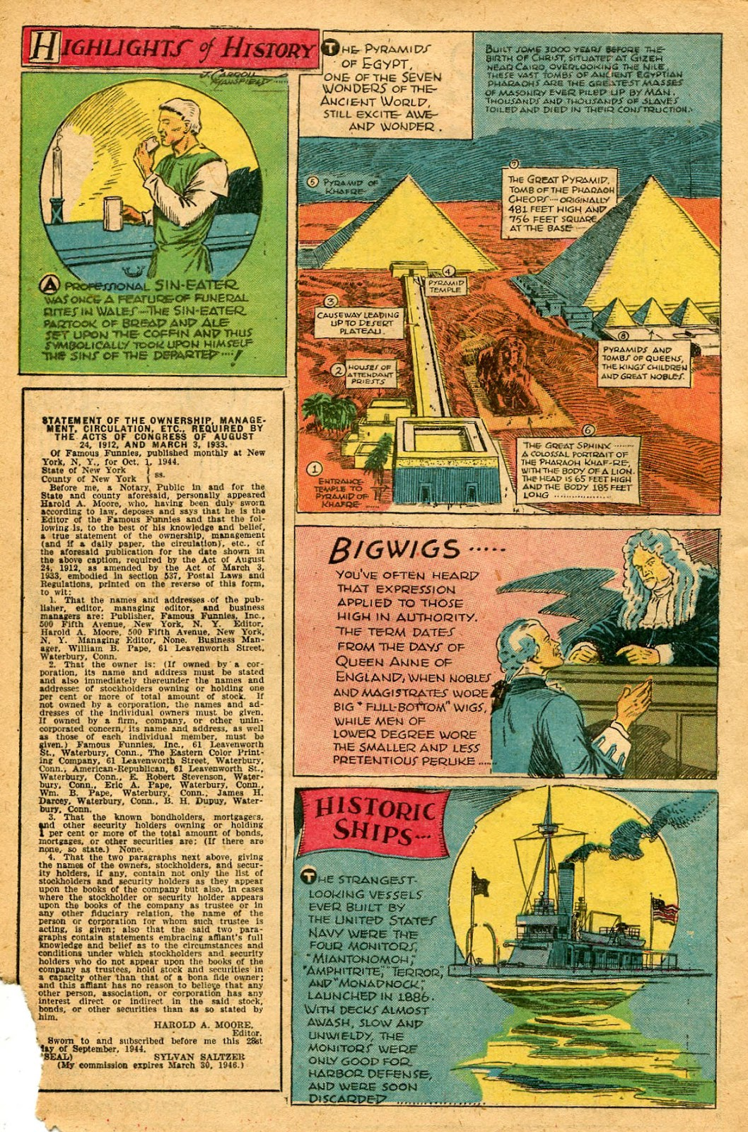Read online Famous Funnies comic -  Issue #127 - 48