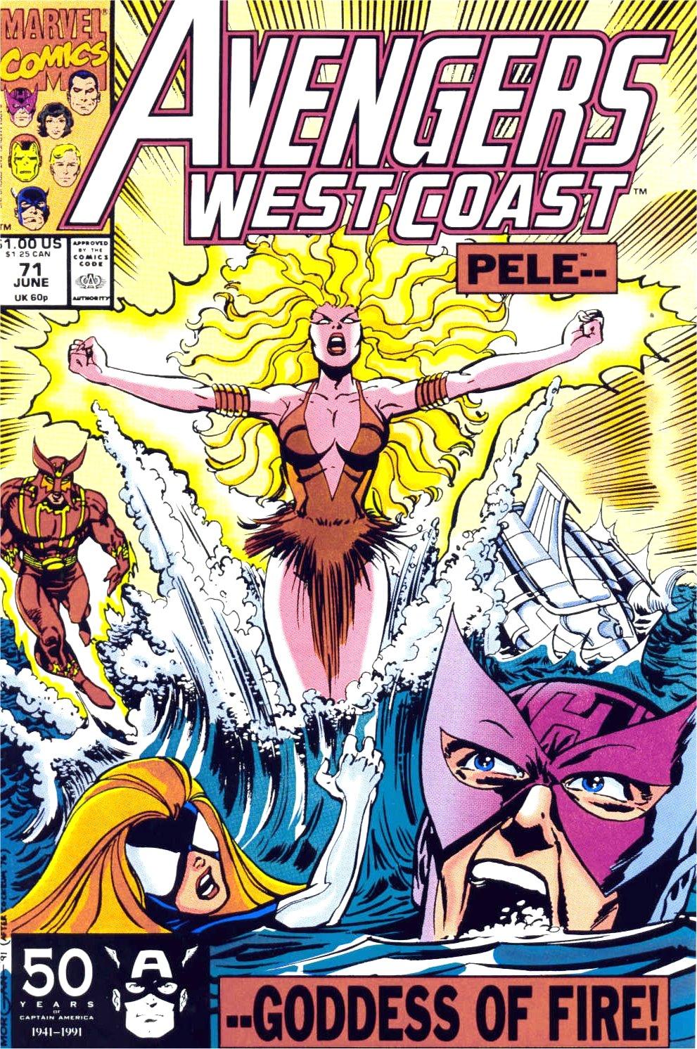 Avengers West Coast (1989) 71 Page 1