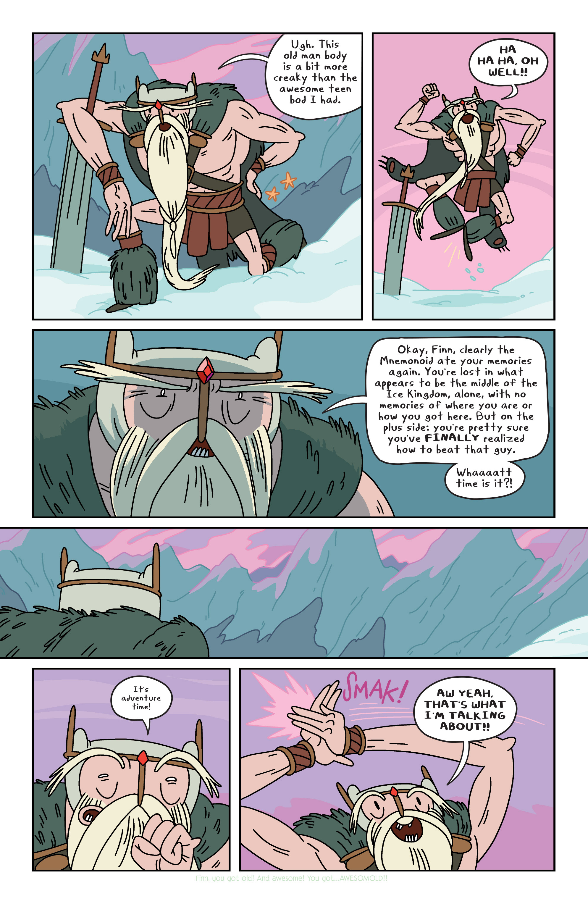 Read online Adventure Time comic -  Issue #34 - 3
