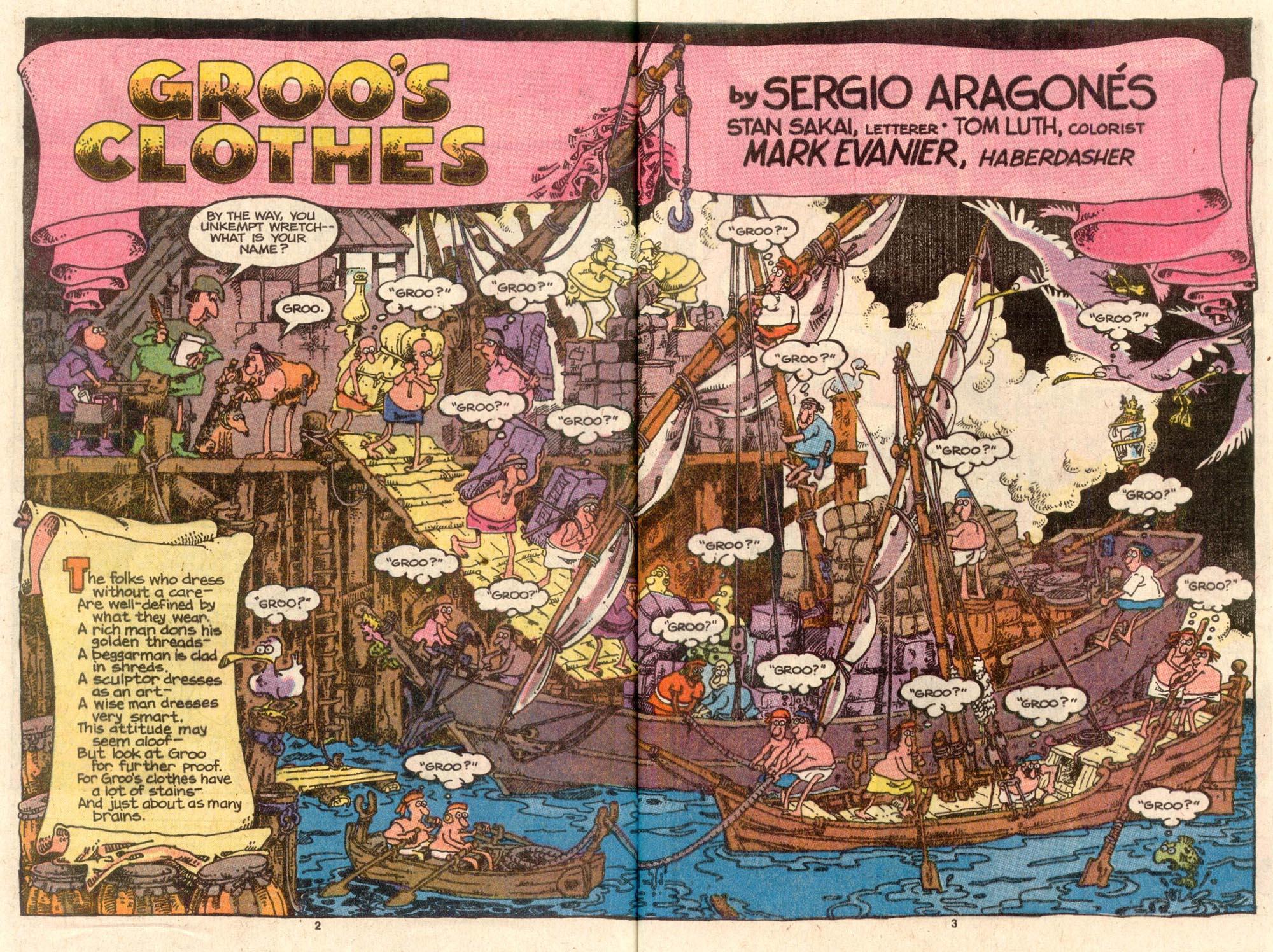 Read online Sergio Aragonés Groo the Wanderer comic -  Issue #46 - 3